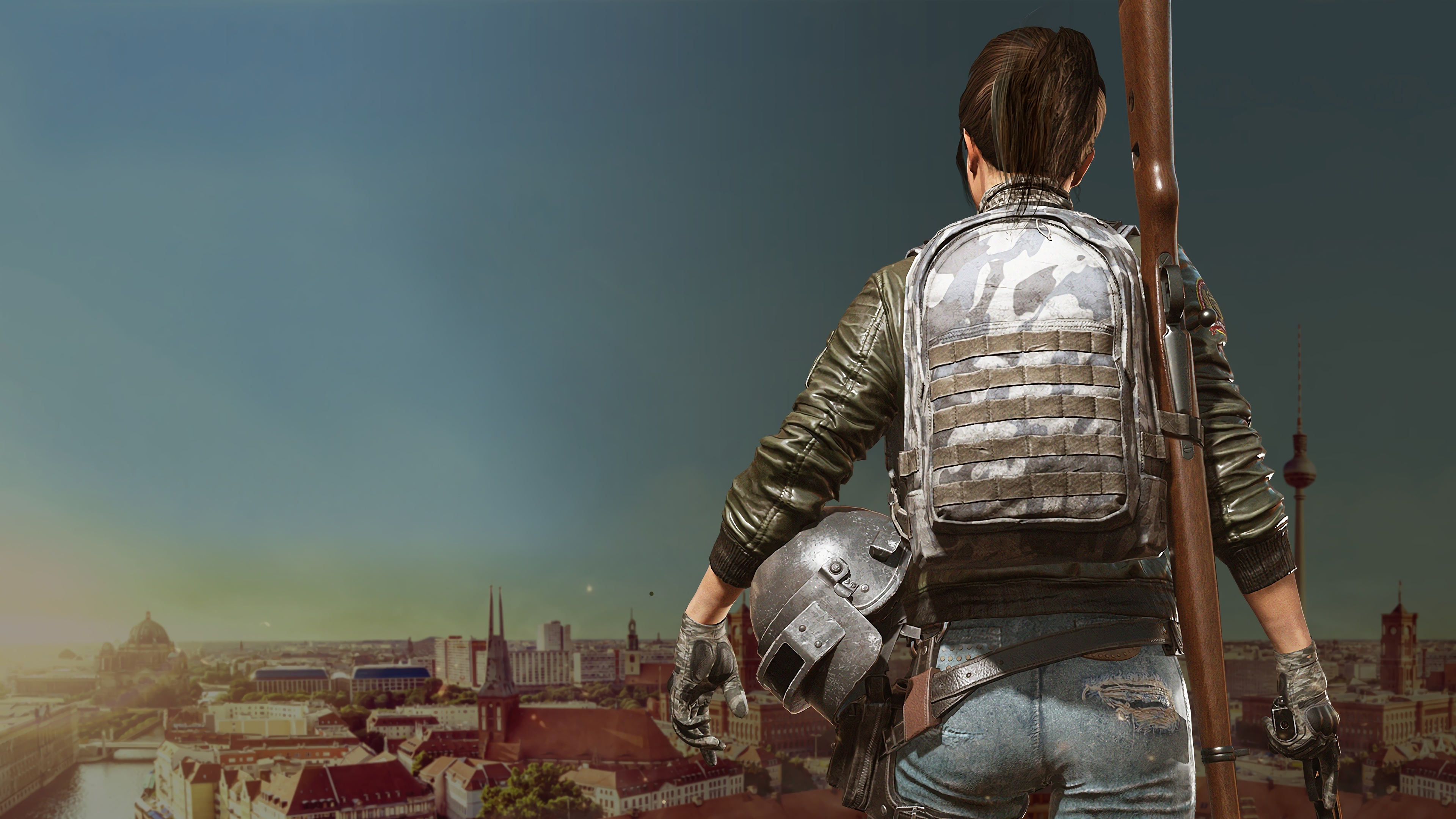 2048x1152 Pubg Bike Rider 4k 2048x1152 Resolution Hd 4k: Game Girl Pubg 4k, HD Games, 4k Wallpapers, Images