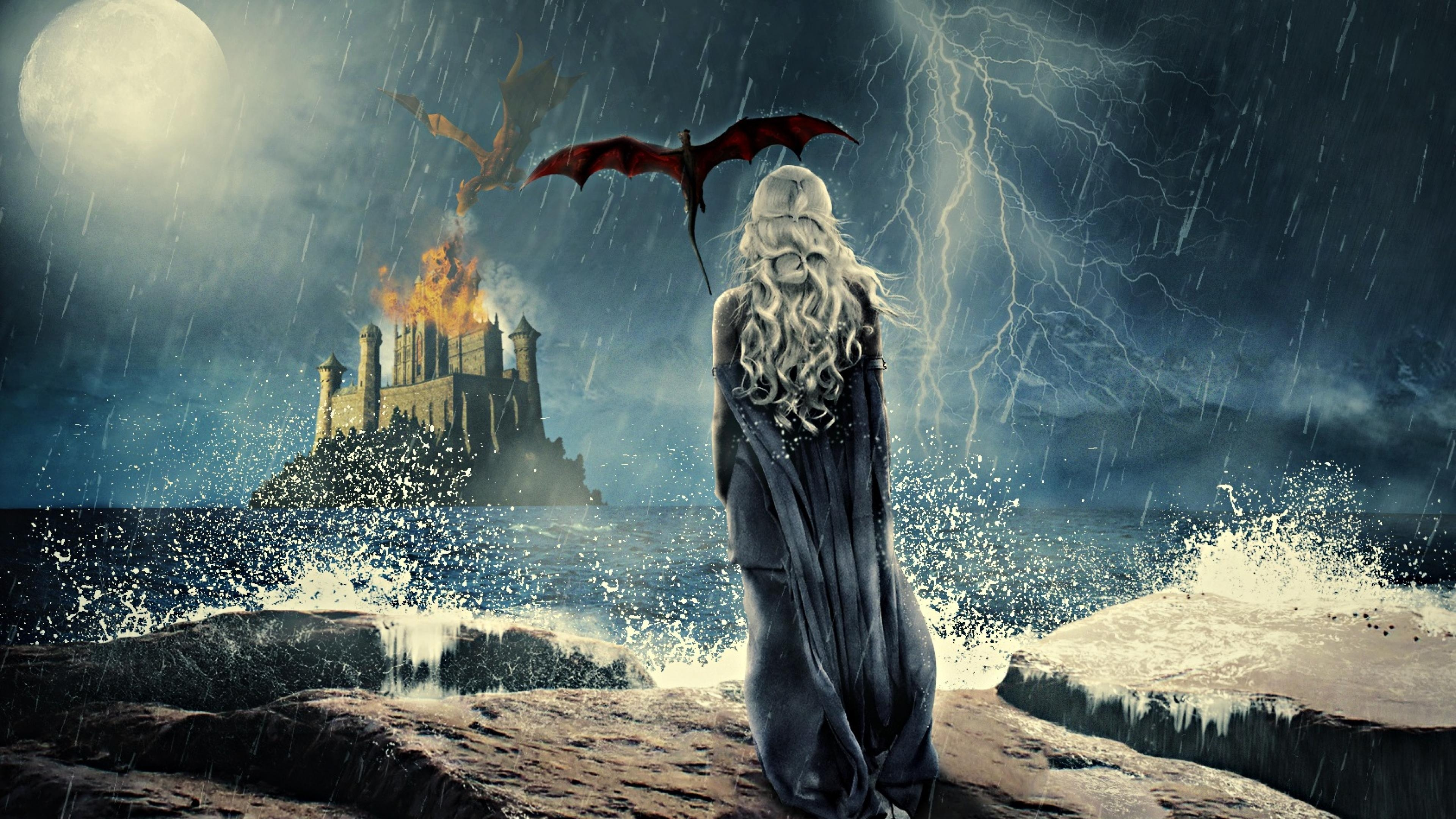 Game Of Thrones Khaleesi Art 4k Hd Tv Shows 4k Wallpapers
