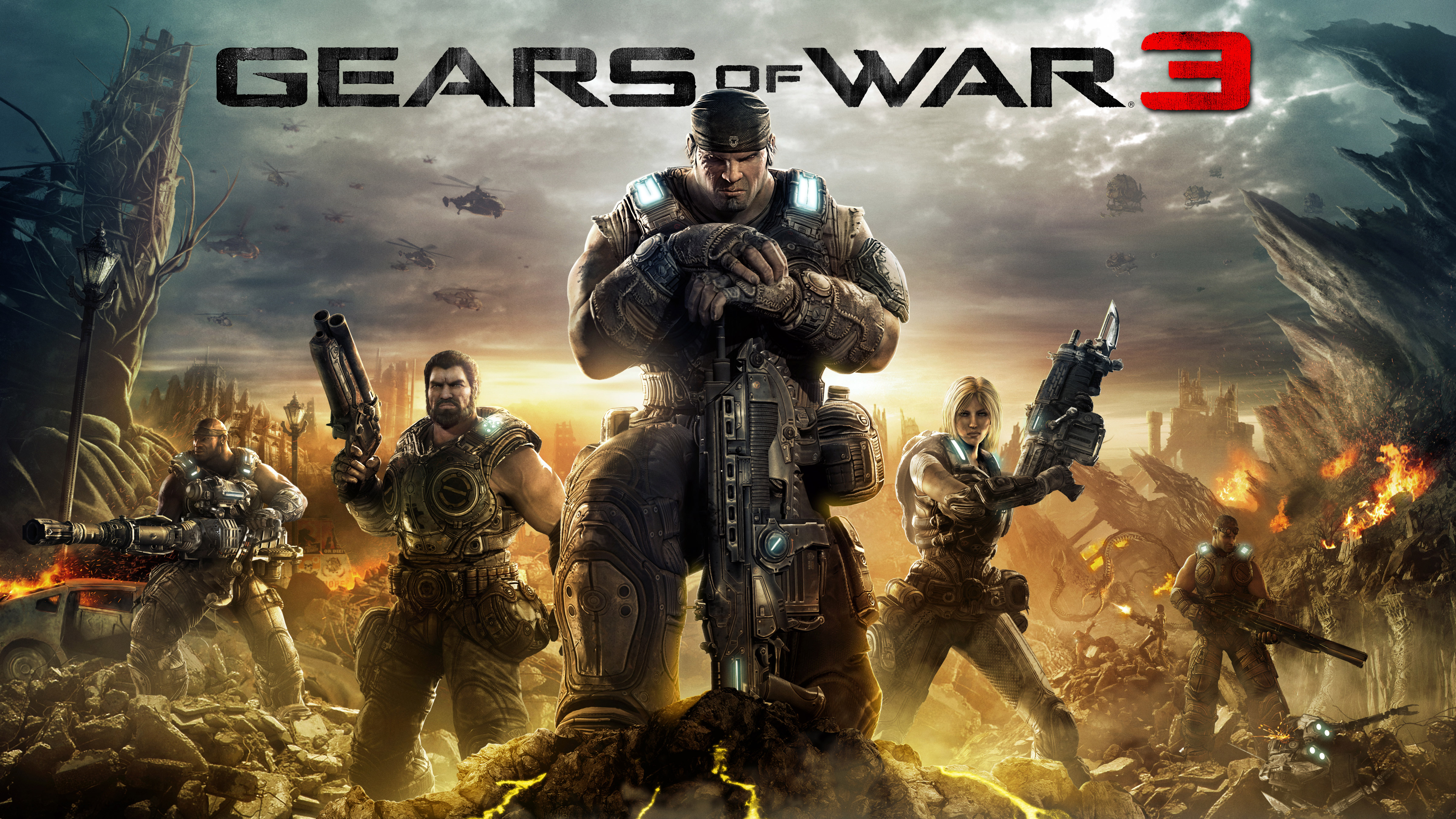 Gears Of War 3 Hd Wallpapers For Android: Gears Of War 3 4k, HD Games, 4k Wallpapers, Images