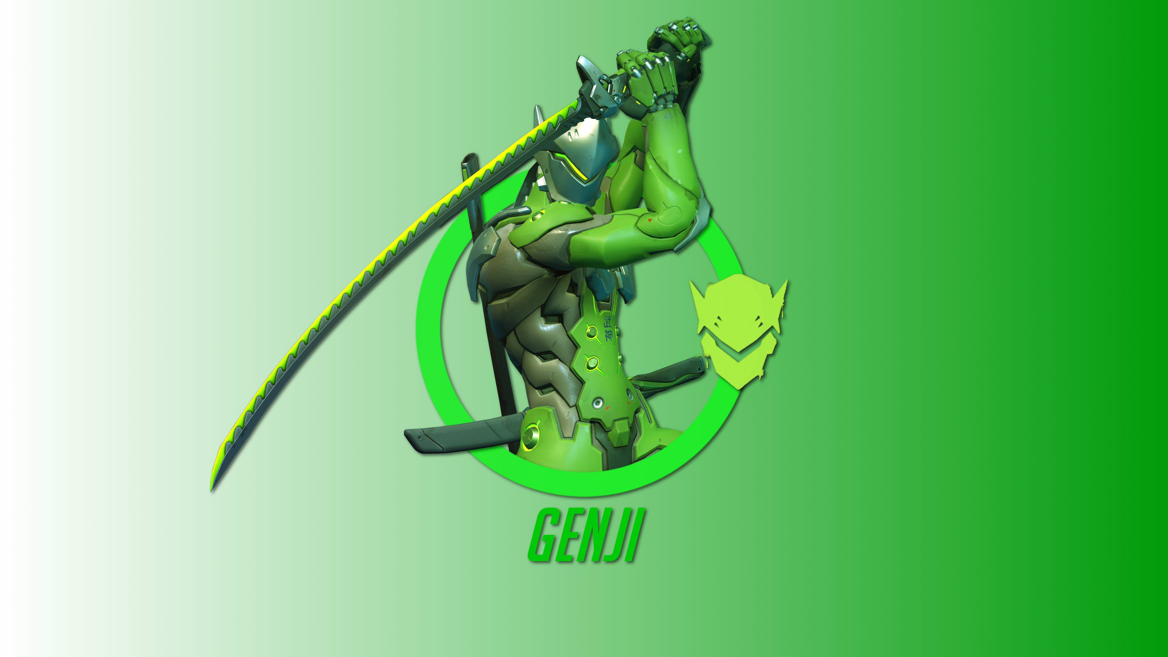 240x400 Genji Overwatch Hero 4k Acer E100huaweigalaxy S