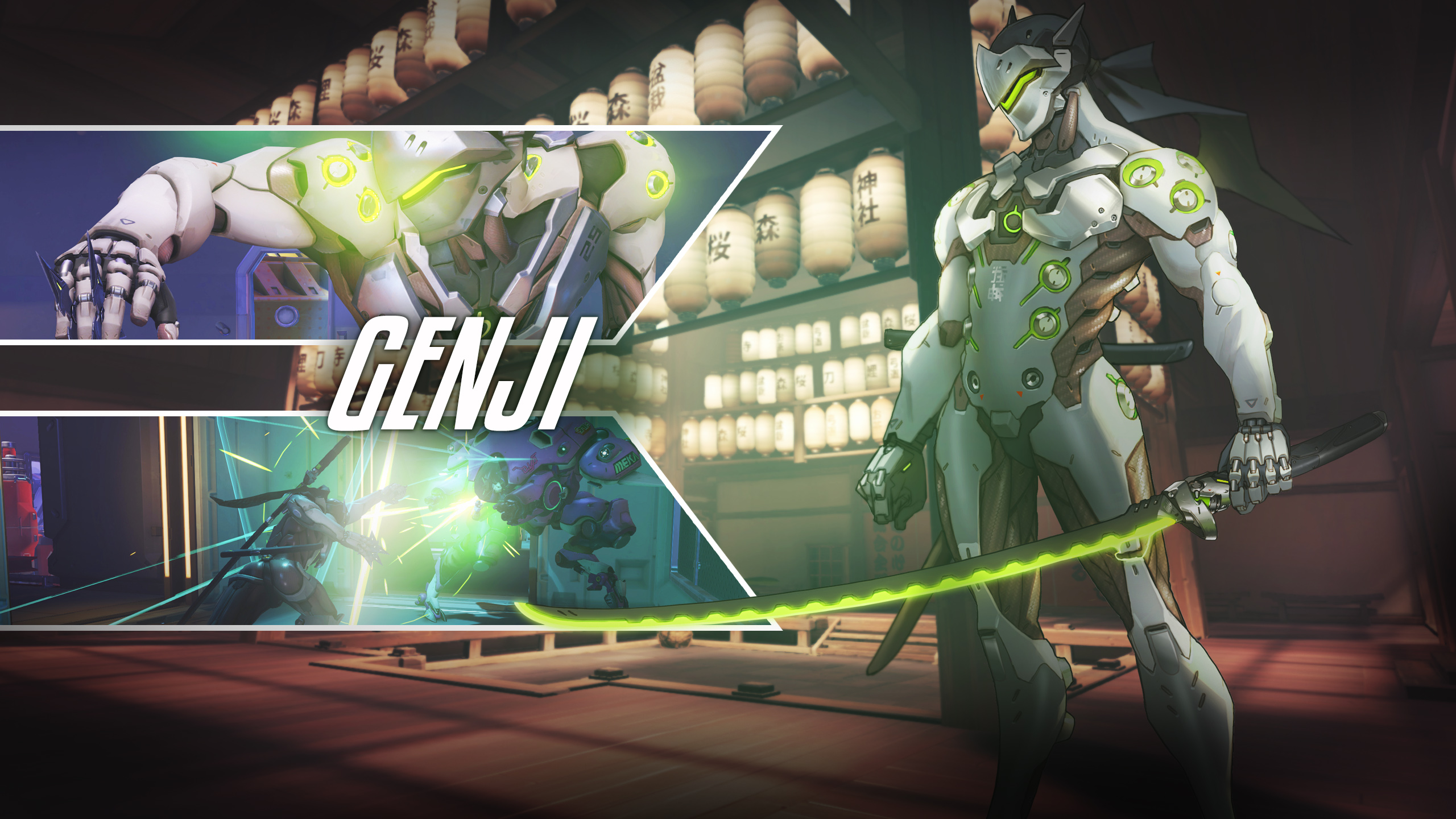 Genji Overwatch Hd Games 4k Wallpapers Images Backgrounds