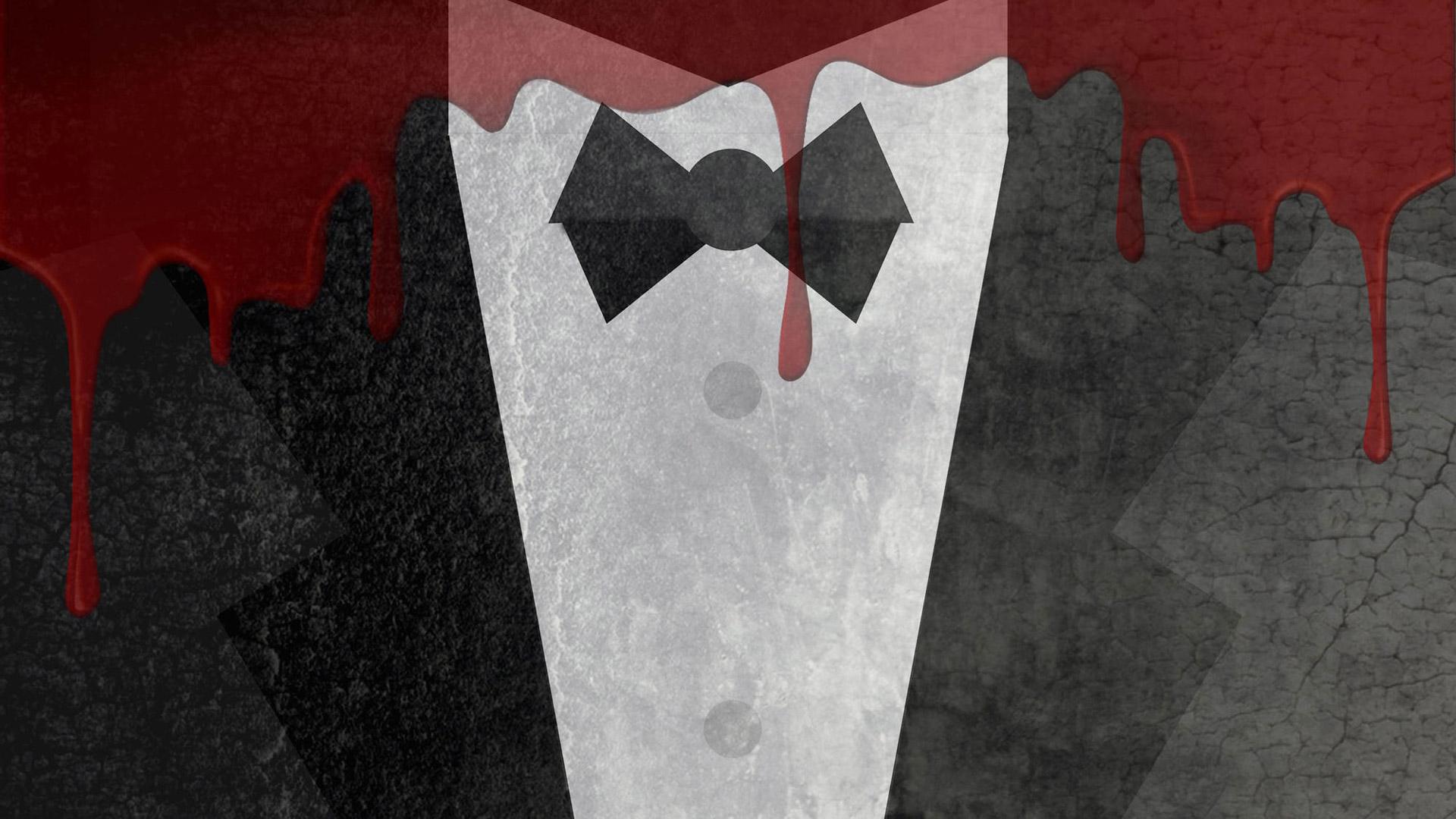 Gentleman Blood Minimalism Hd Artist 4k Wallpapers Images