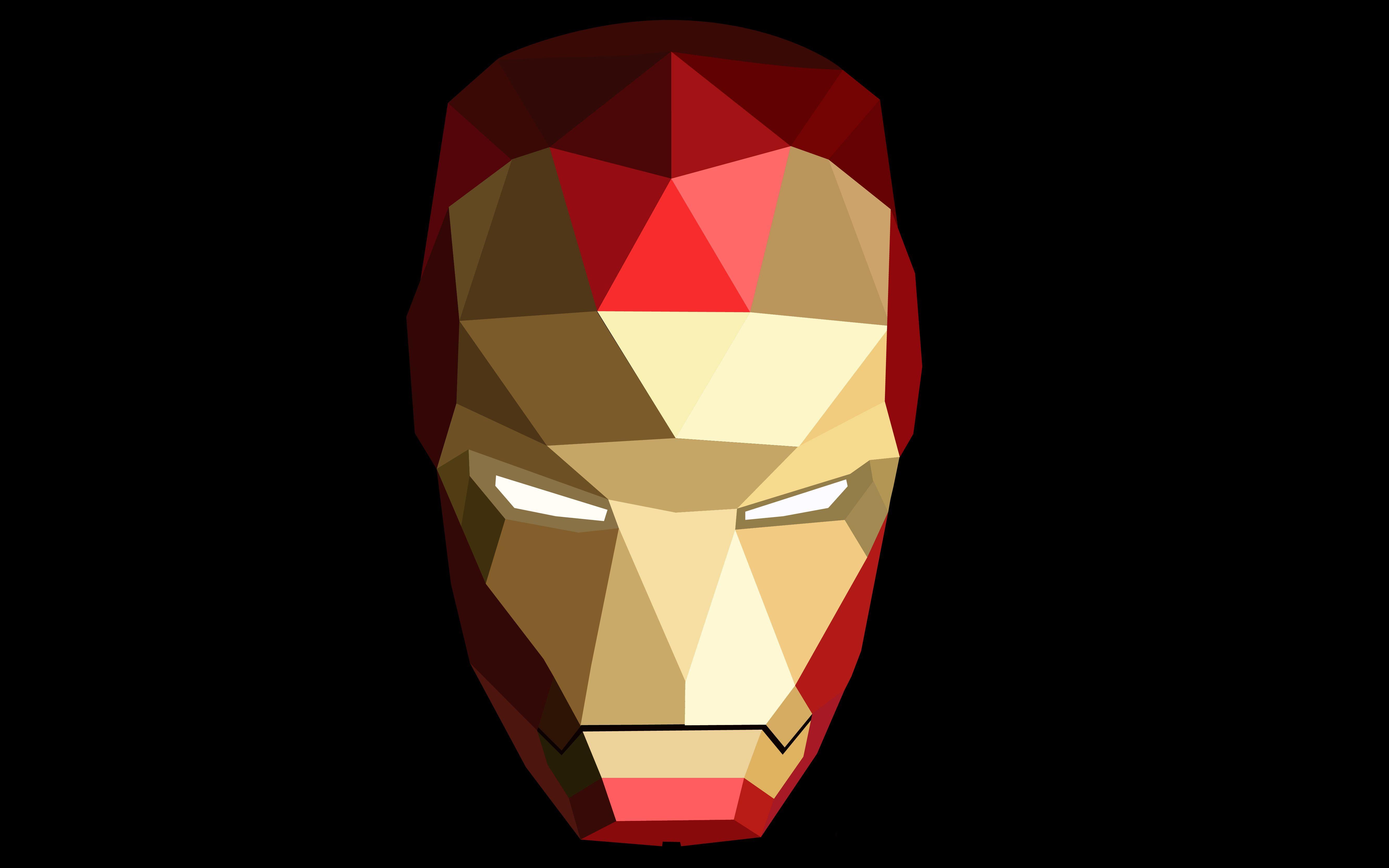 Geometric Iron Man, HD Superheroes, 4k Wallpapers, Images ...