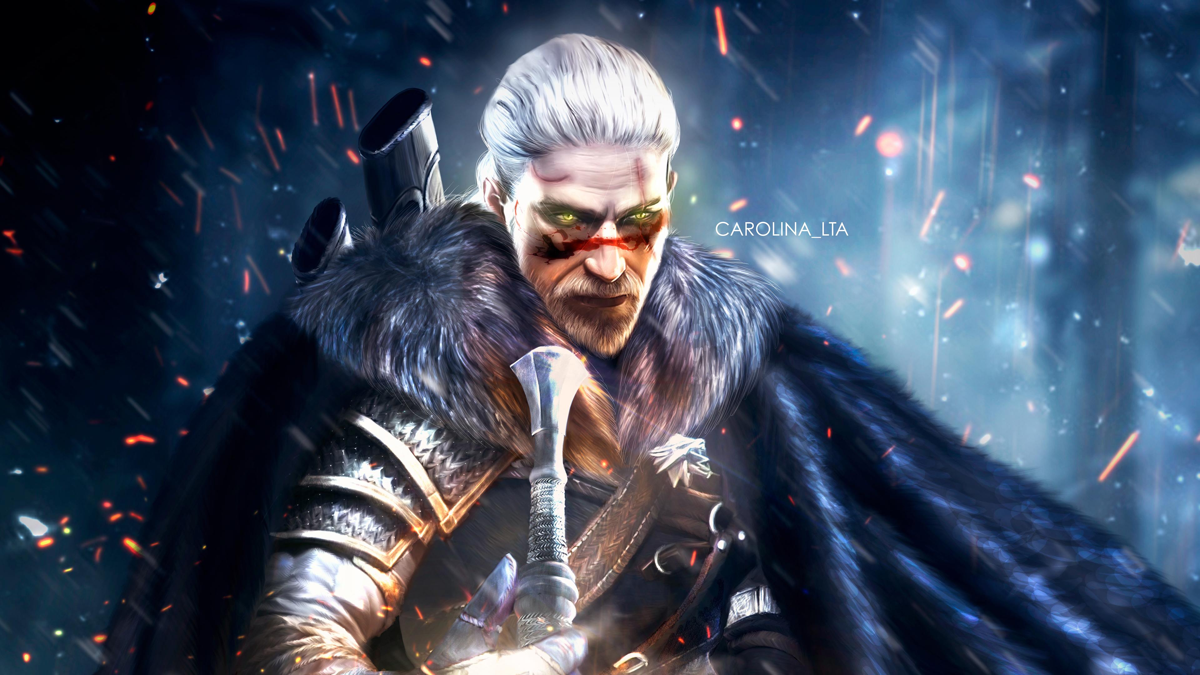 The Witcher 3 Wallpaper 4k: Geralt Of Rivia 4k, HD Games, 4k Wallpapers, Images