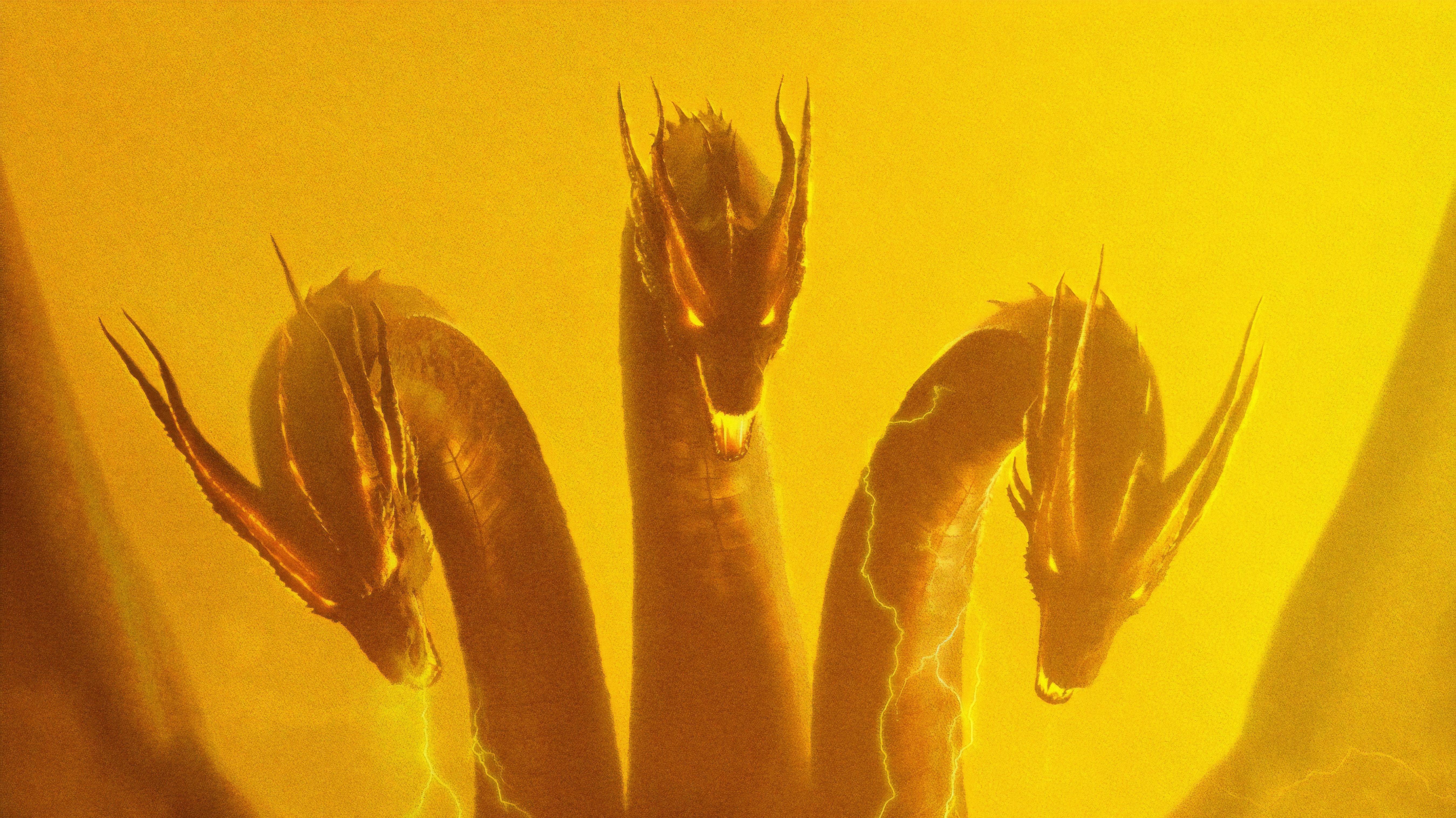 Ghidorah Godzilla King Of The Monsters 5k, HD Movies, 4k ...