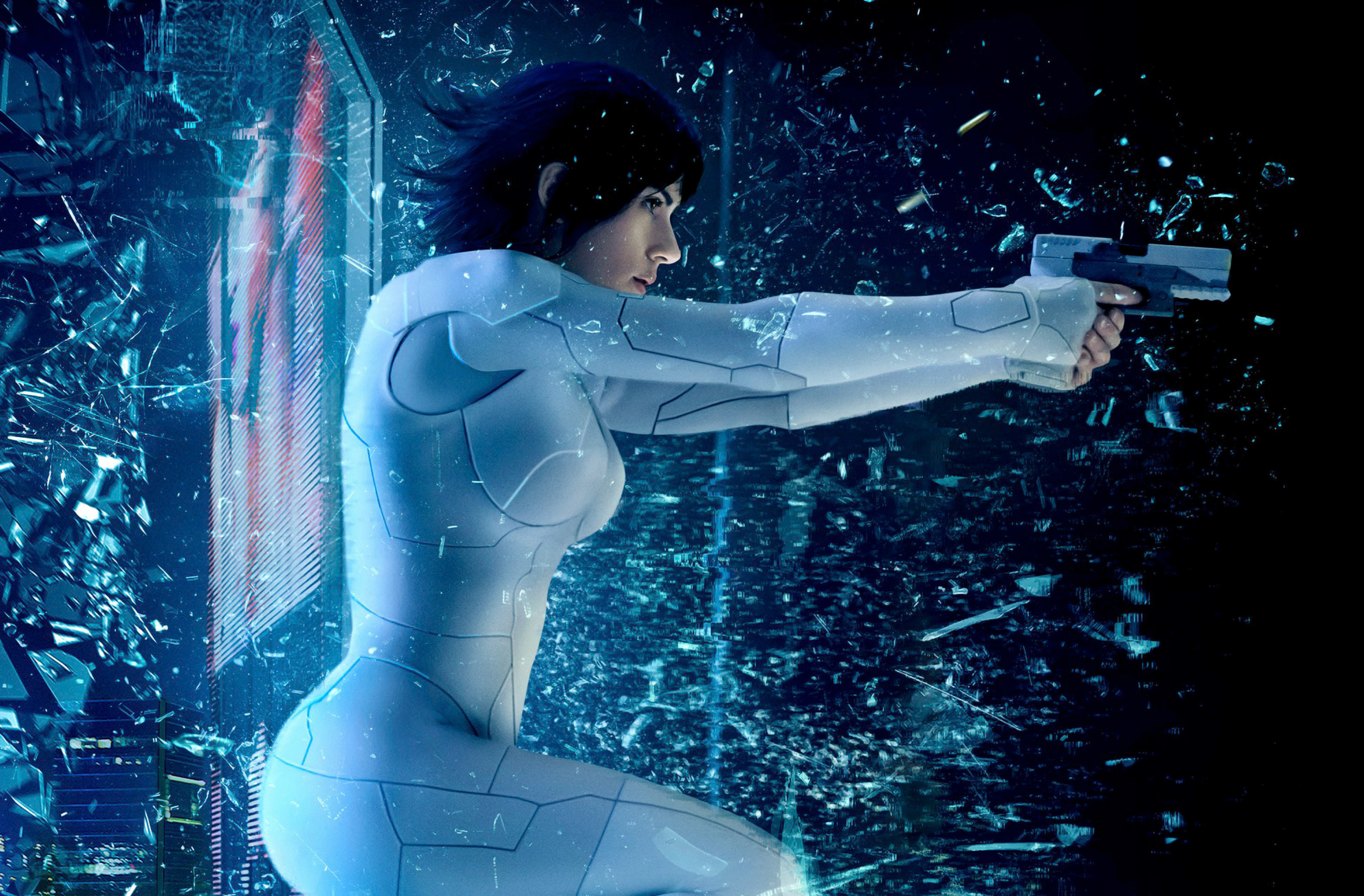 Ghost In The Shell 2017 Movie, HD Movies, 4k Wallpapers