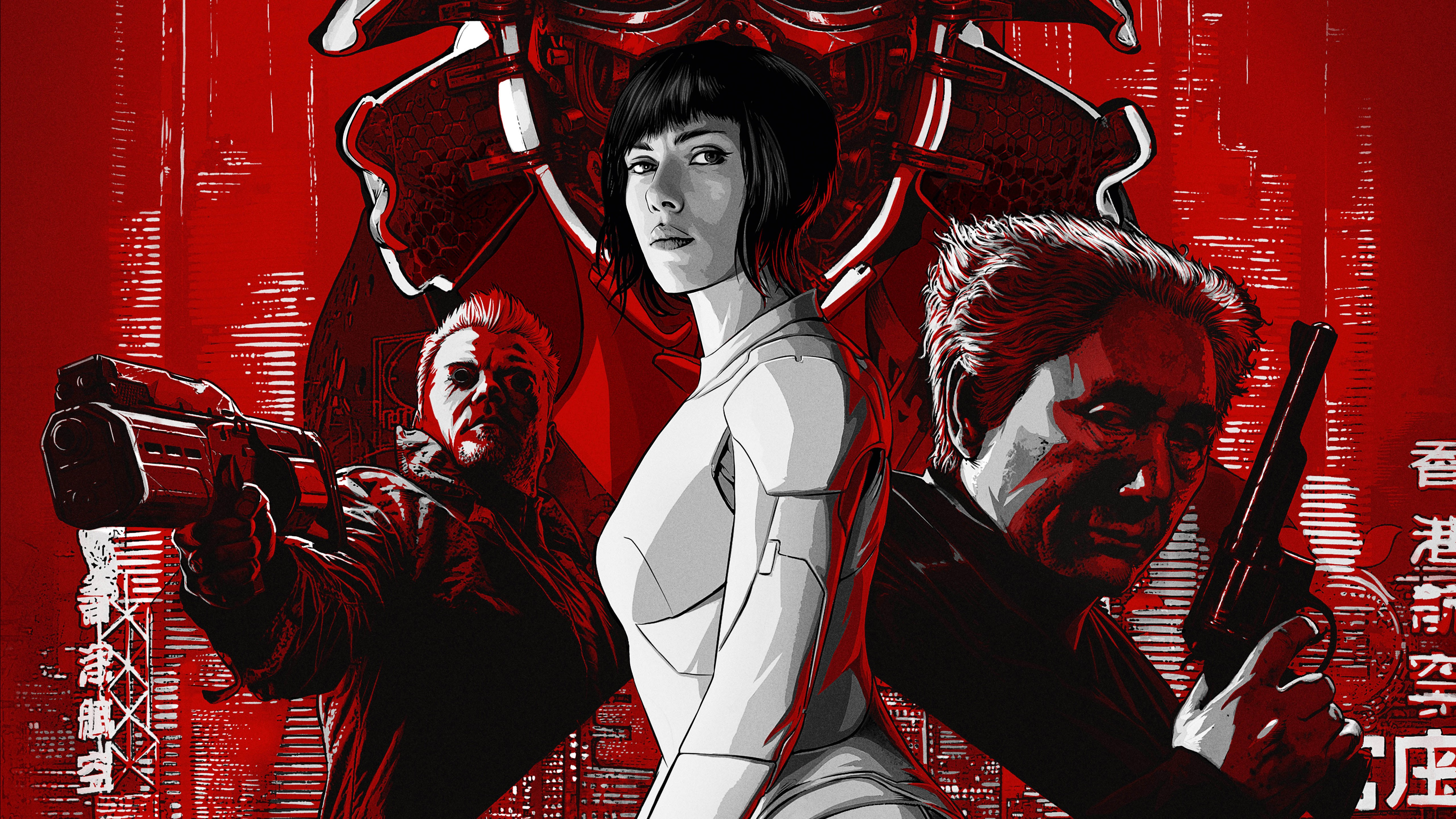 Ghost In The Shell 5k, HD Movies, 4k Wallpapers, Images
