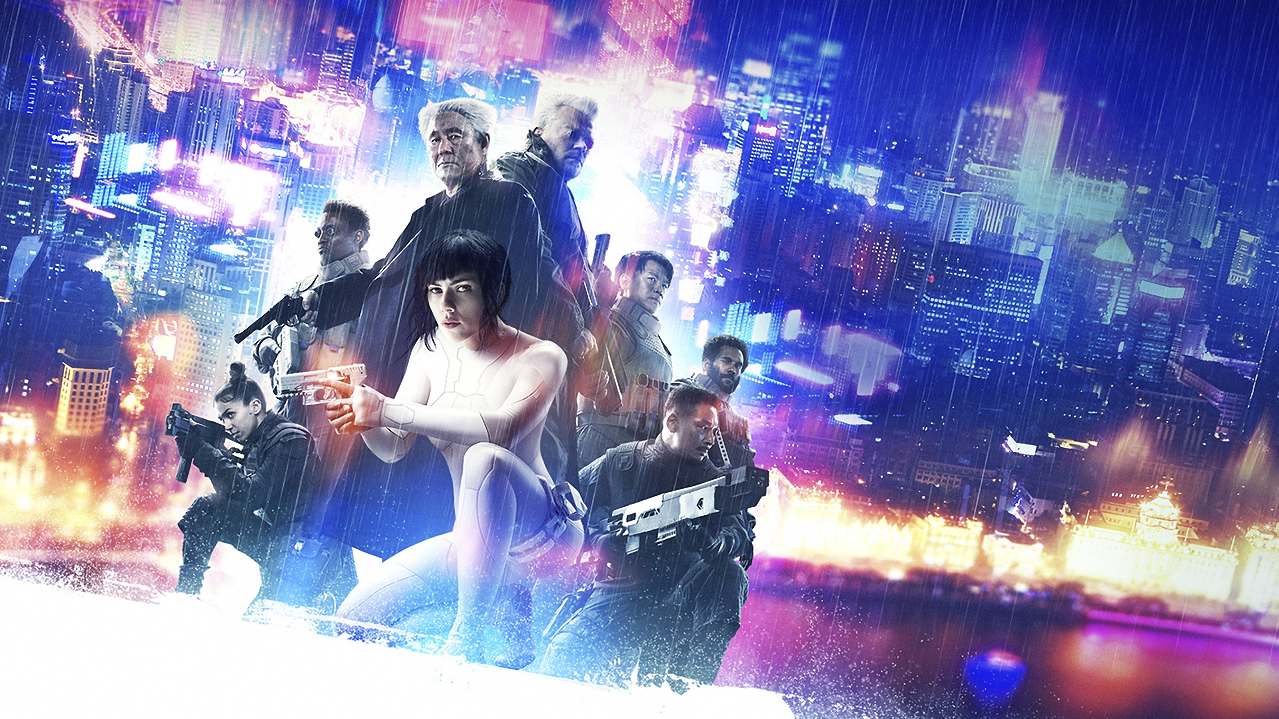 Ghost In The Shell 5k Poster Hd Movies 4k Wallpapers