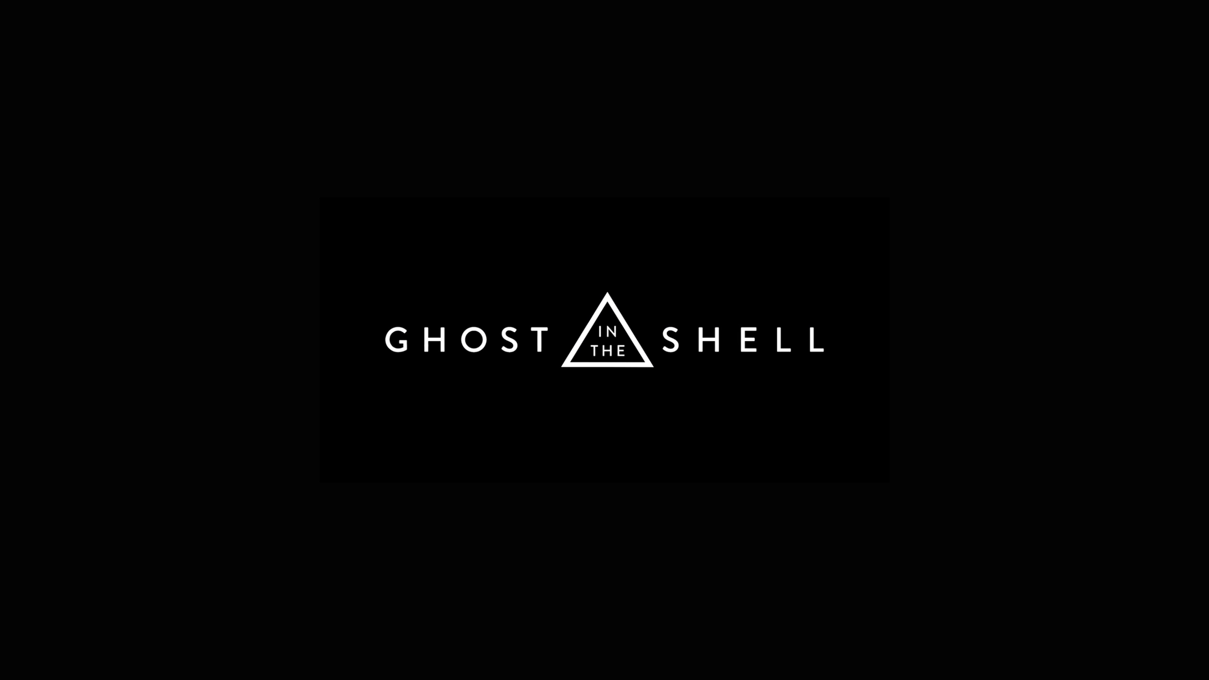 Ghost In The Shell Movie Logo, HD Movies, 4k Wallpapers