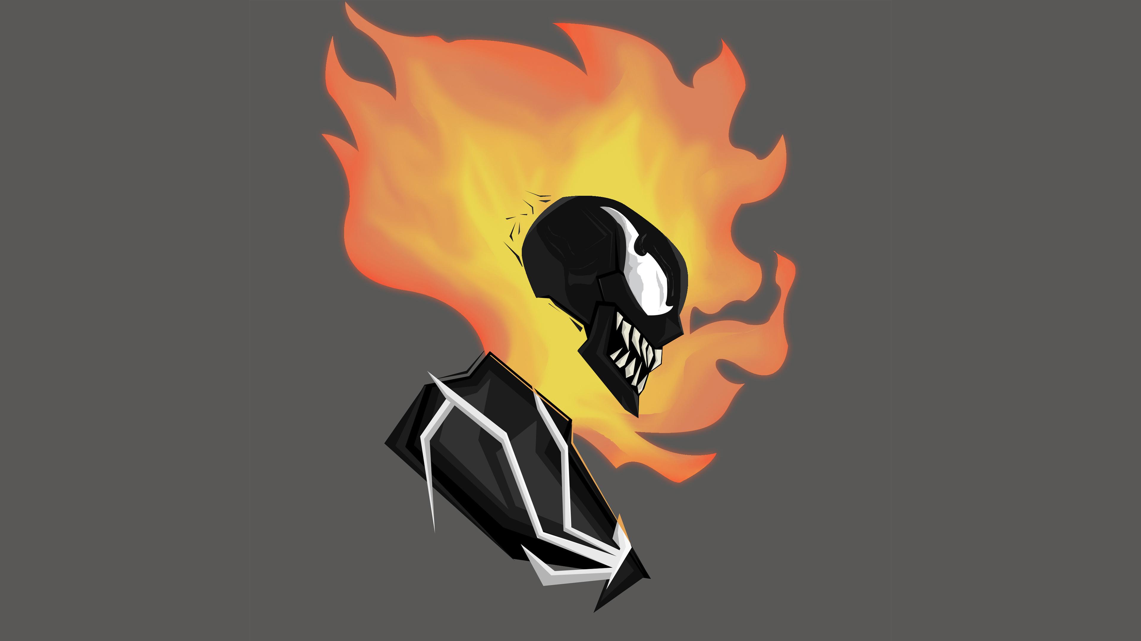 Ghost Rider Into The Venomverse