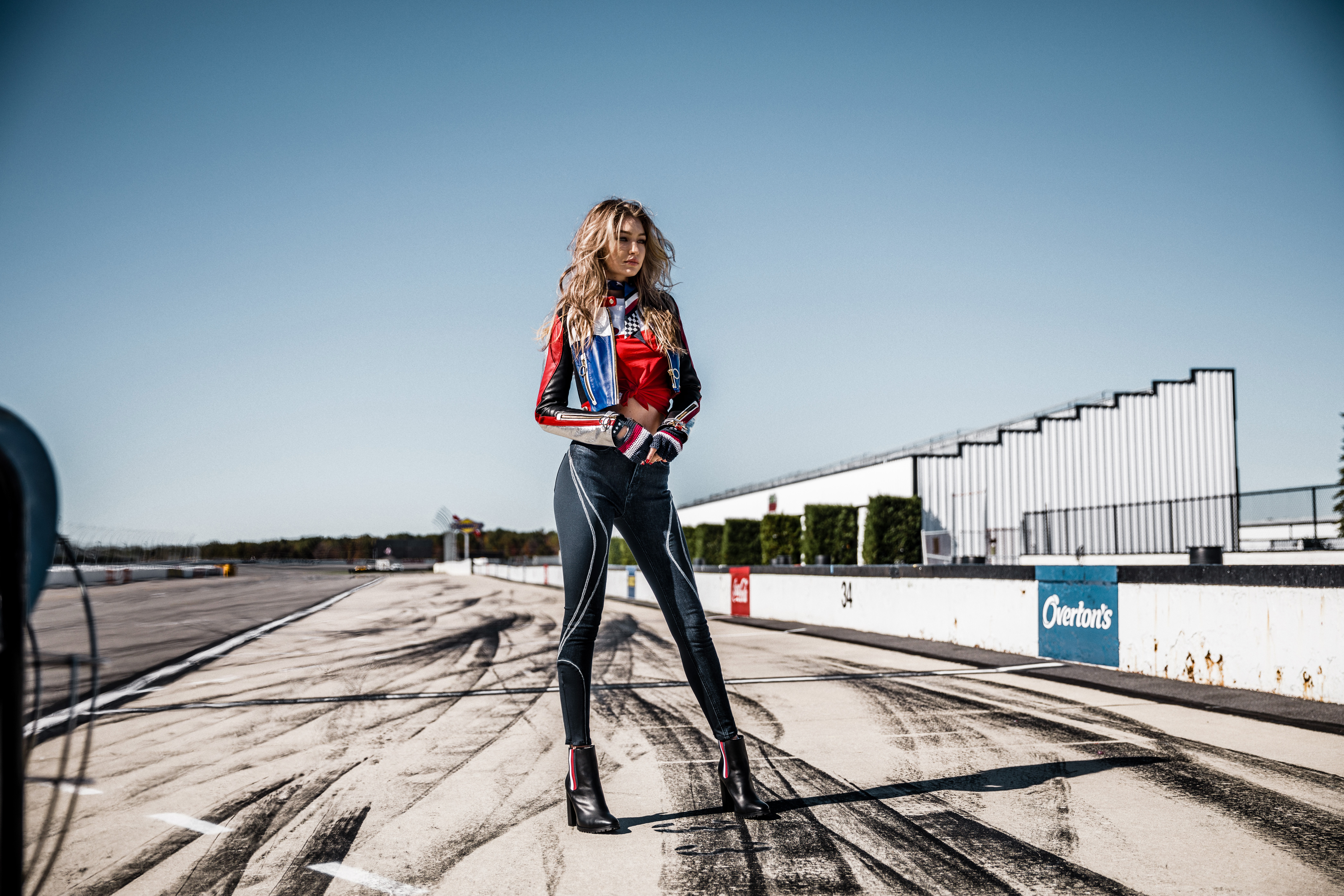 Gigi Hadid Tommy Hilfiger Campaign HD Celebrities 4k Wallpapers