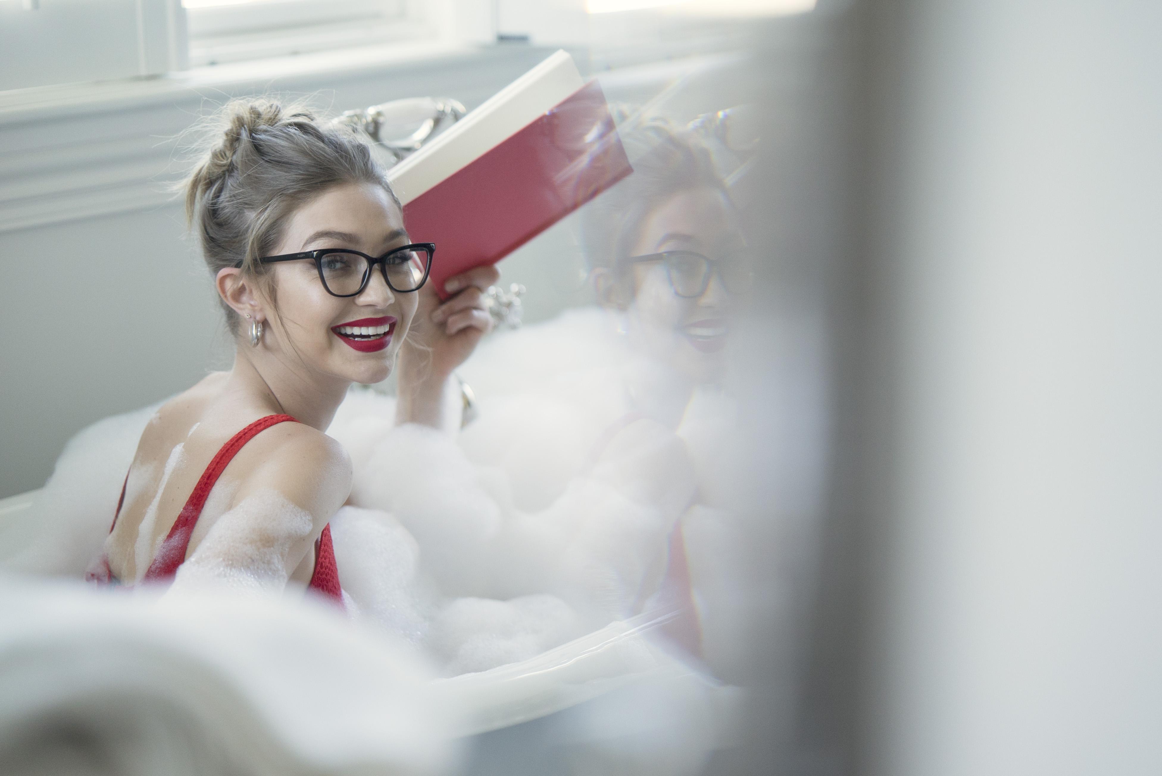 Gigi Hadid Vogue Eyewear 2018, HD Celebrities, 4k