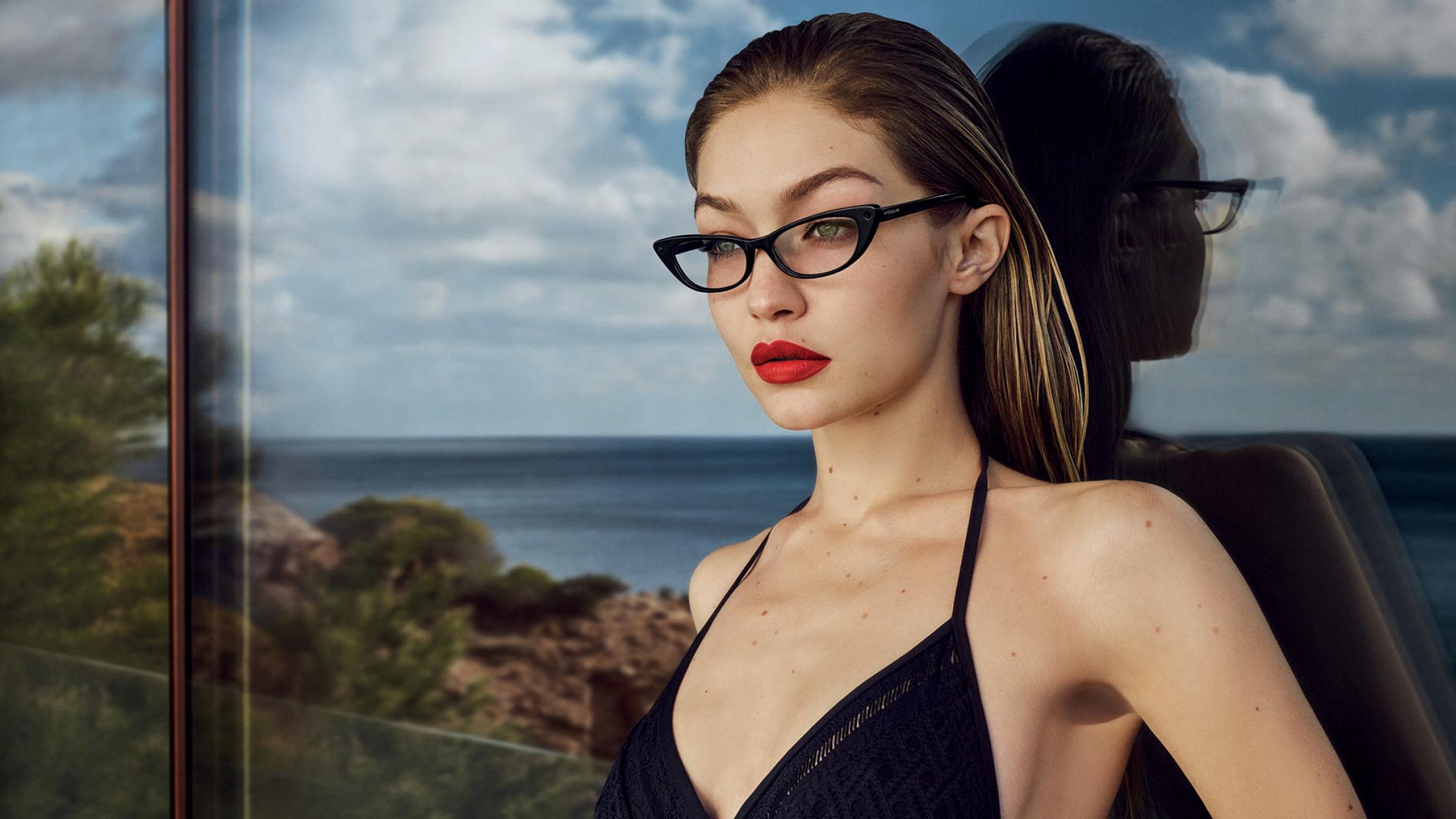 Gigi Hadid Vogue Eyewear 2018 Photoshoot, HD Celebrities