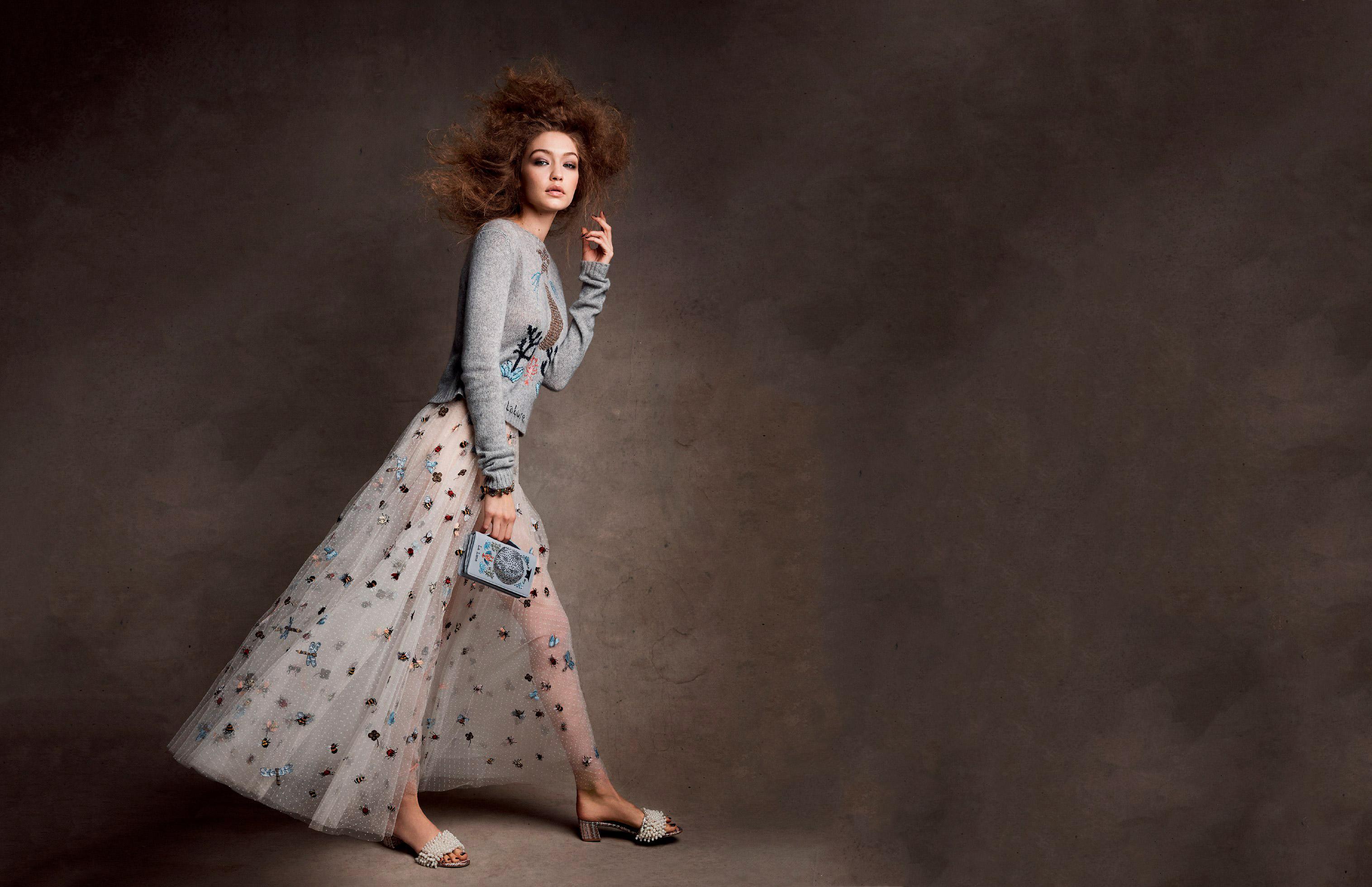 Gigi Hadid Vogue US 2017, HD Celebrities, 4k Wallpapers