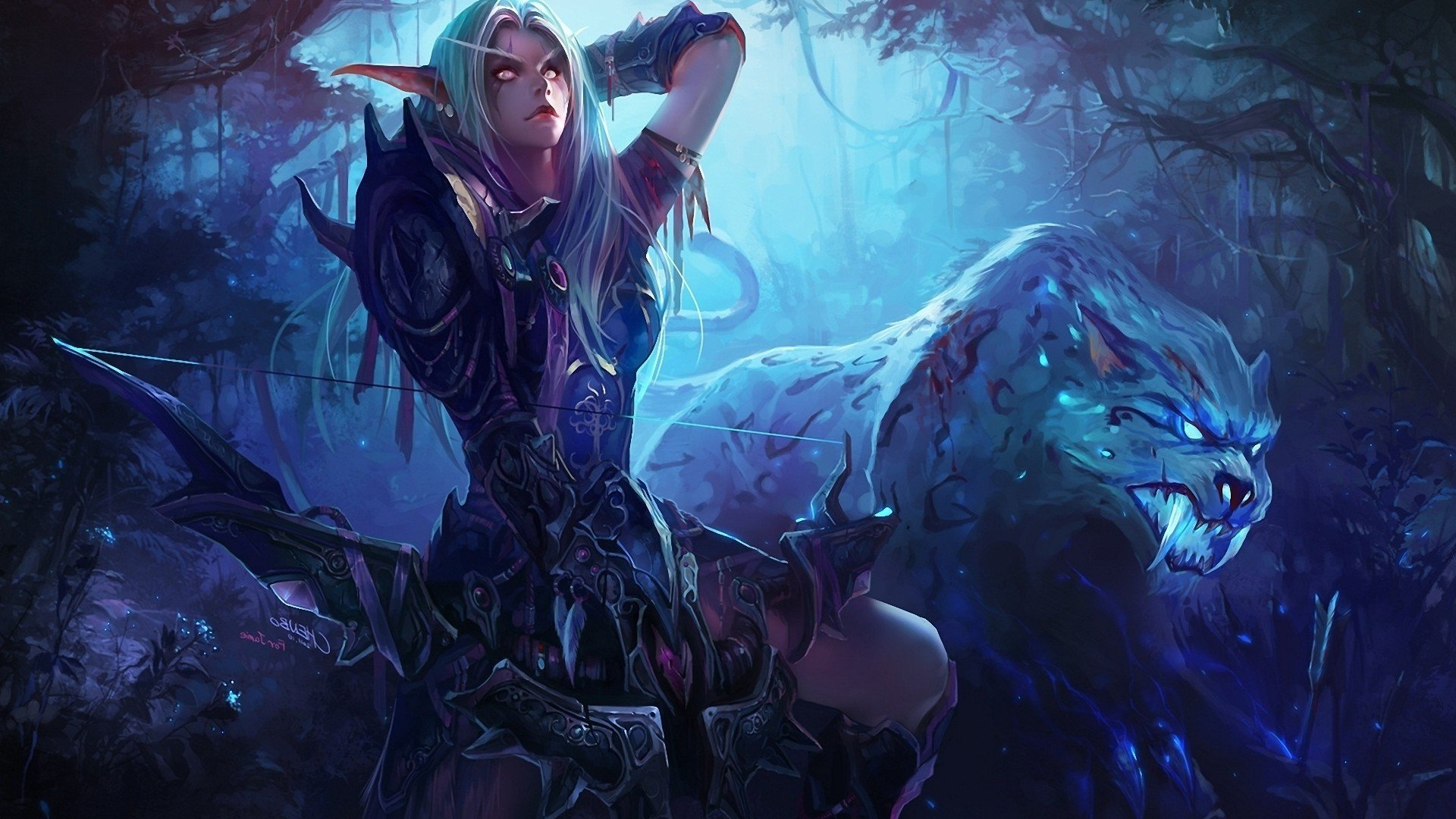 Girl World Of Warcraft, HD Games, 4k Wallpapers, Images