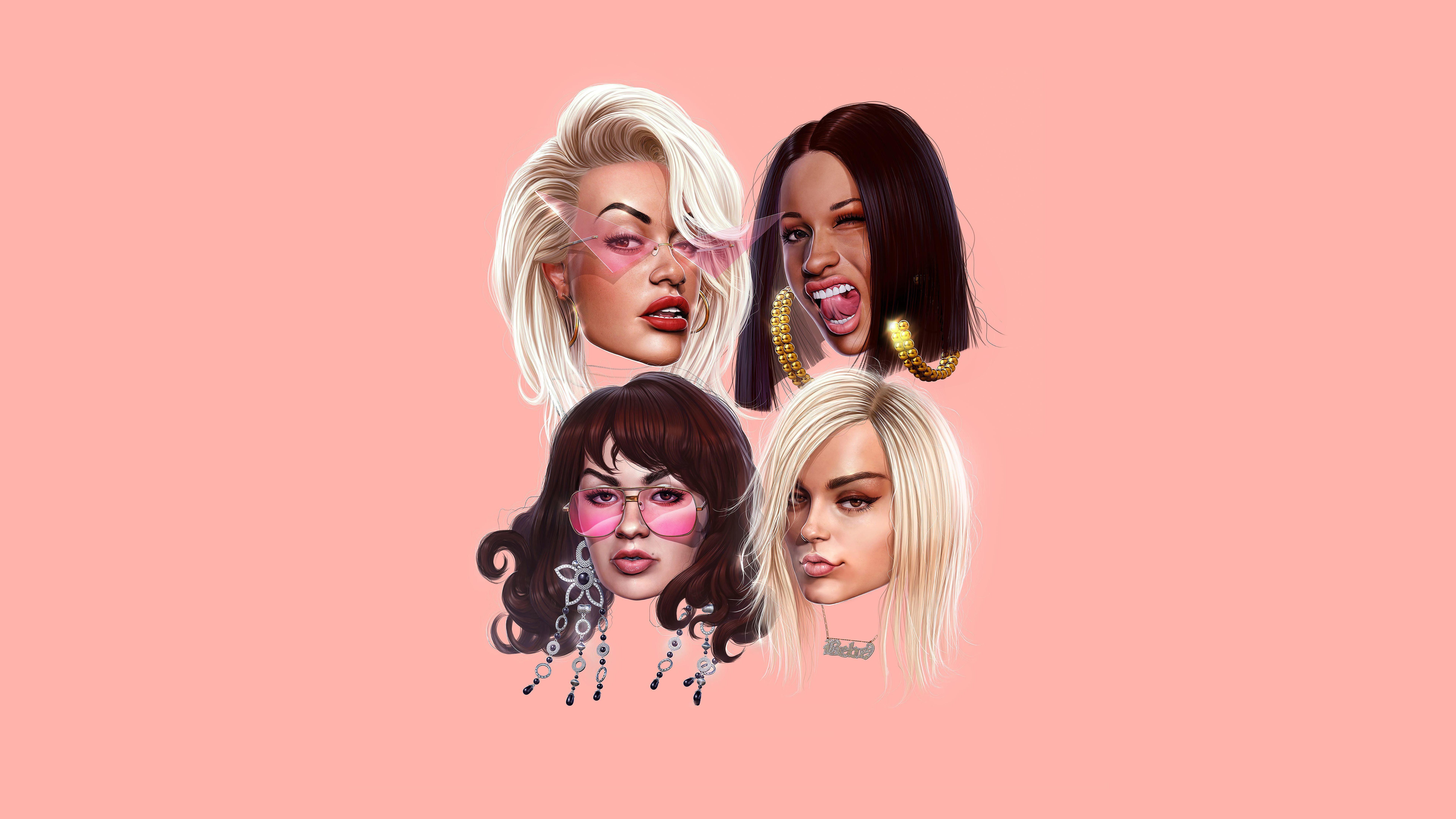 Girls Featuring Cardi B Bebe Rexha Charli Xcx Rita Ora, HD ...