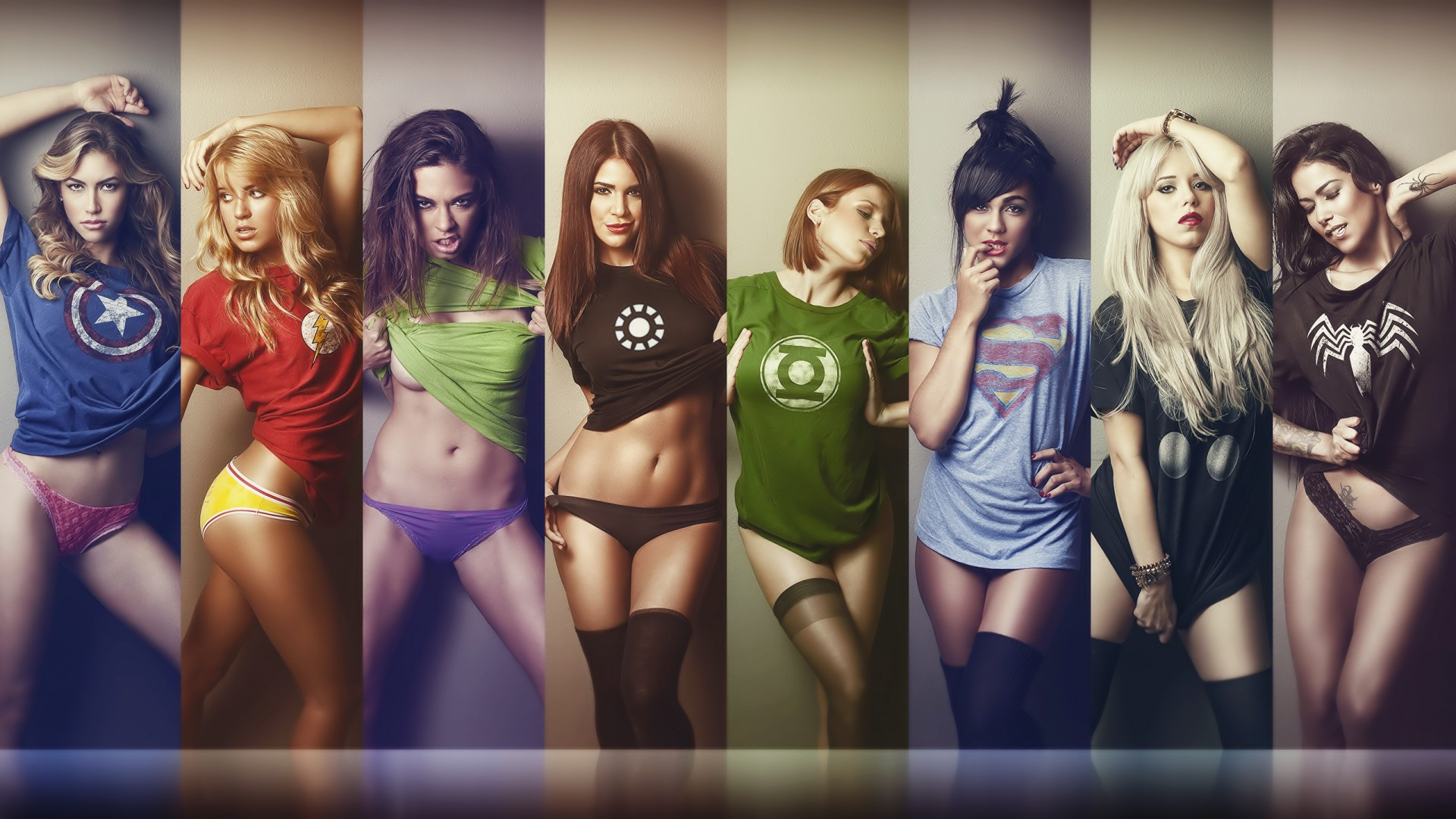 Marvel girls wallpaper adult comic