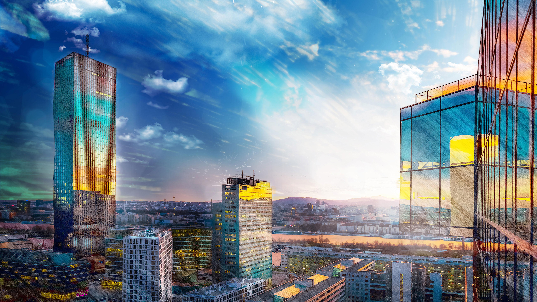 2560x1080 Glass Buildings Architecture 2560x1080