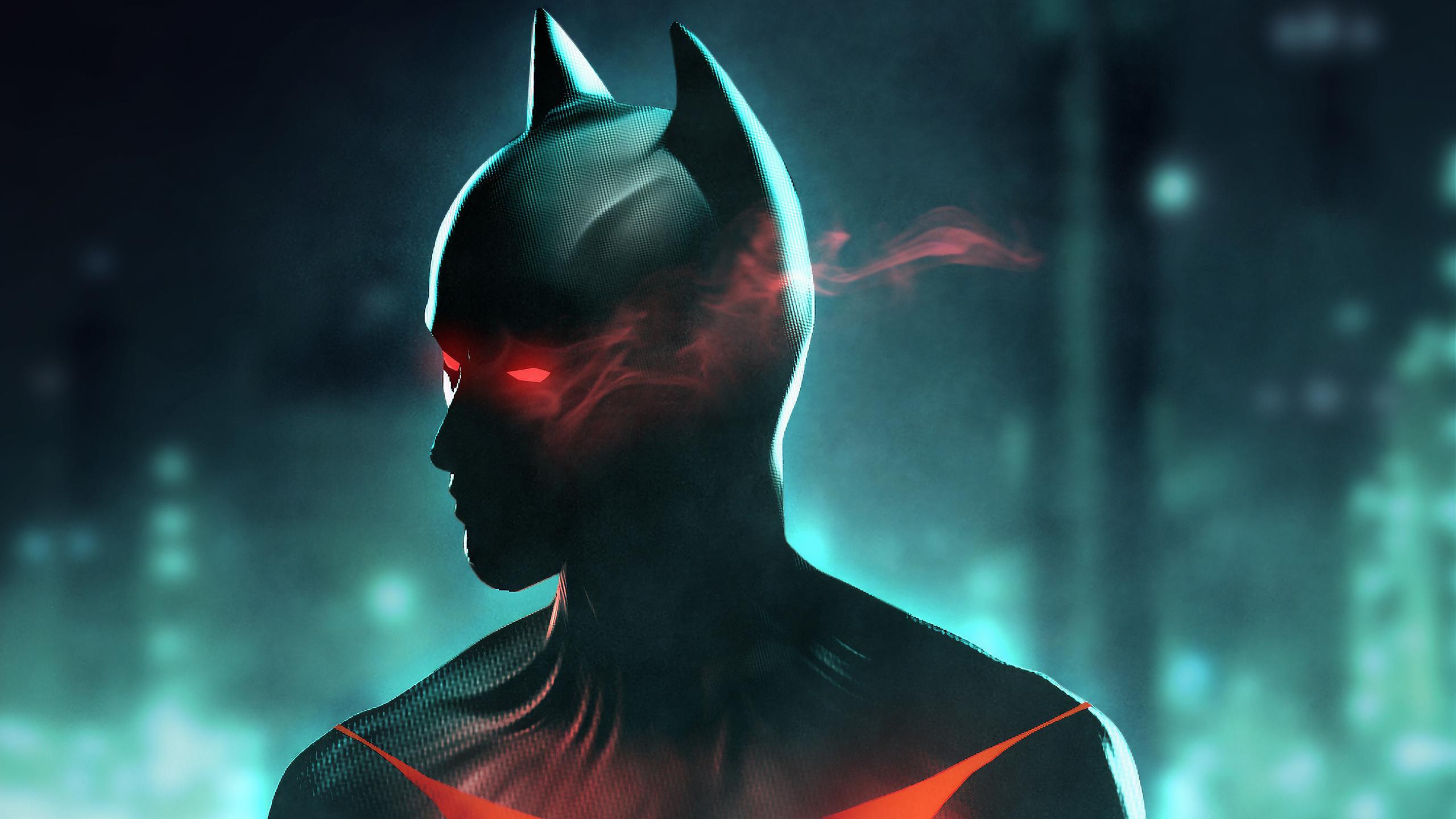 Glowing Eyes Batman Hd Superheroes 4k Wallpapers Images