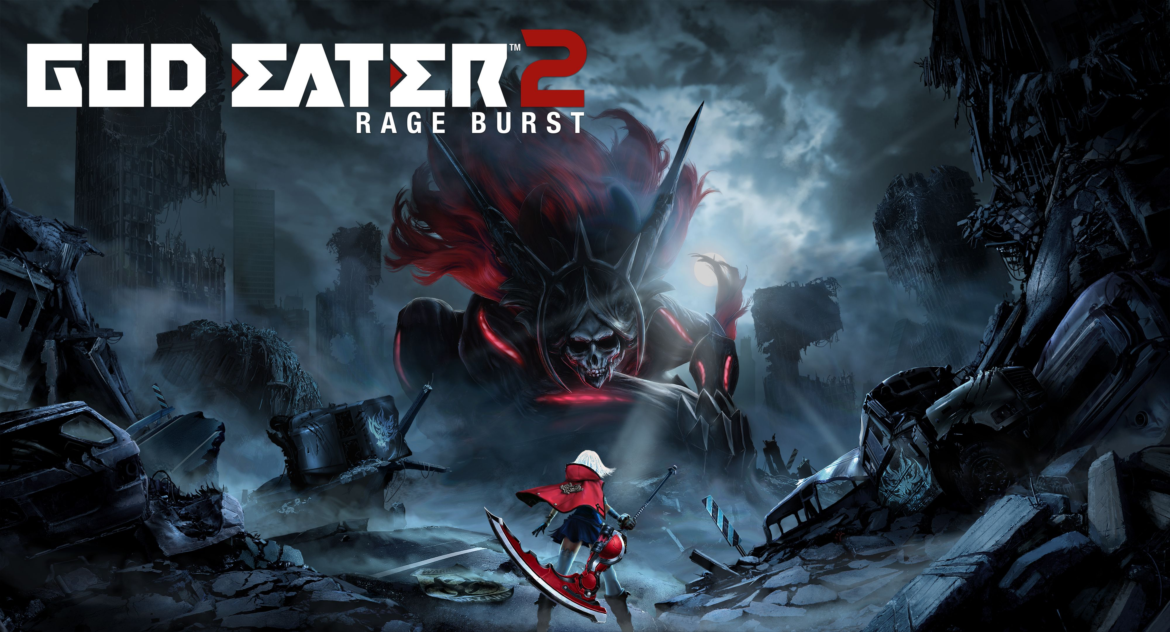 God Eater 2 Rage Burst Art
