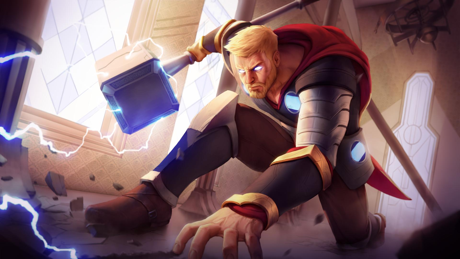 God Of Thunder Art