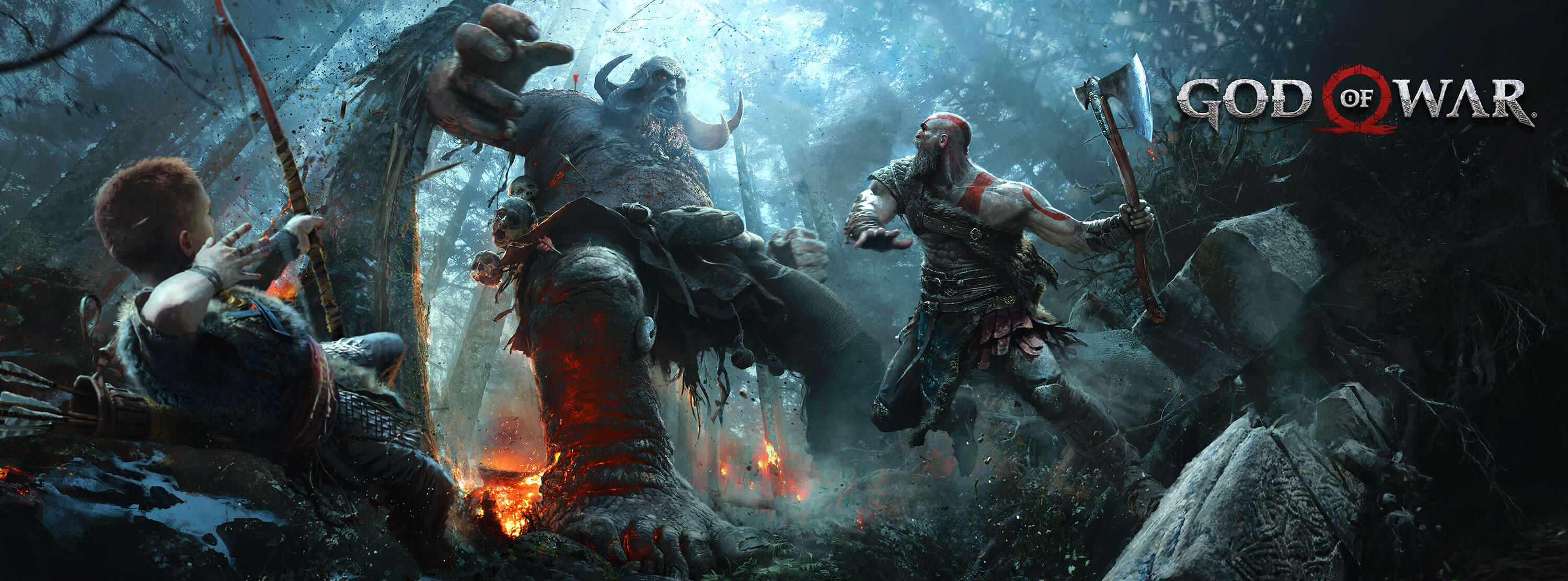 God of war 2017 hd games 4k wallpapers images - 4k wallpaper of god ...