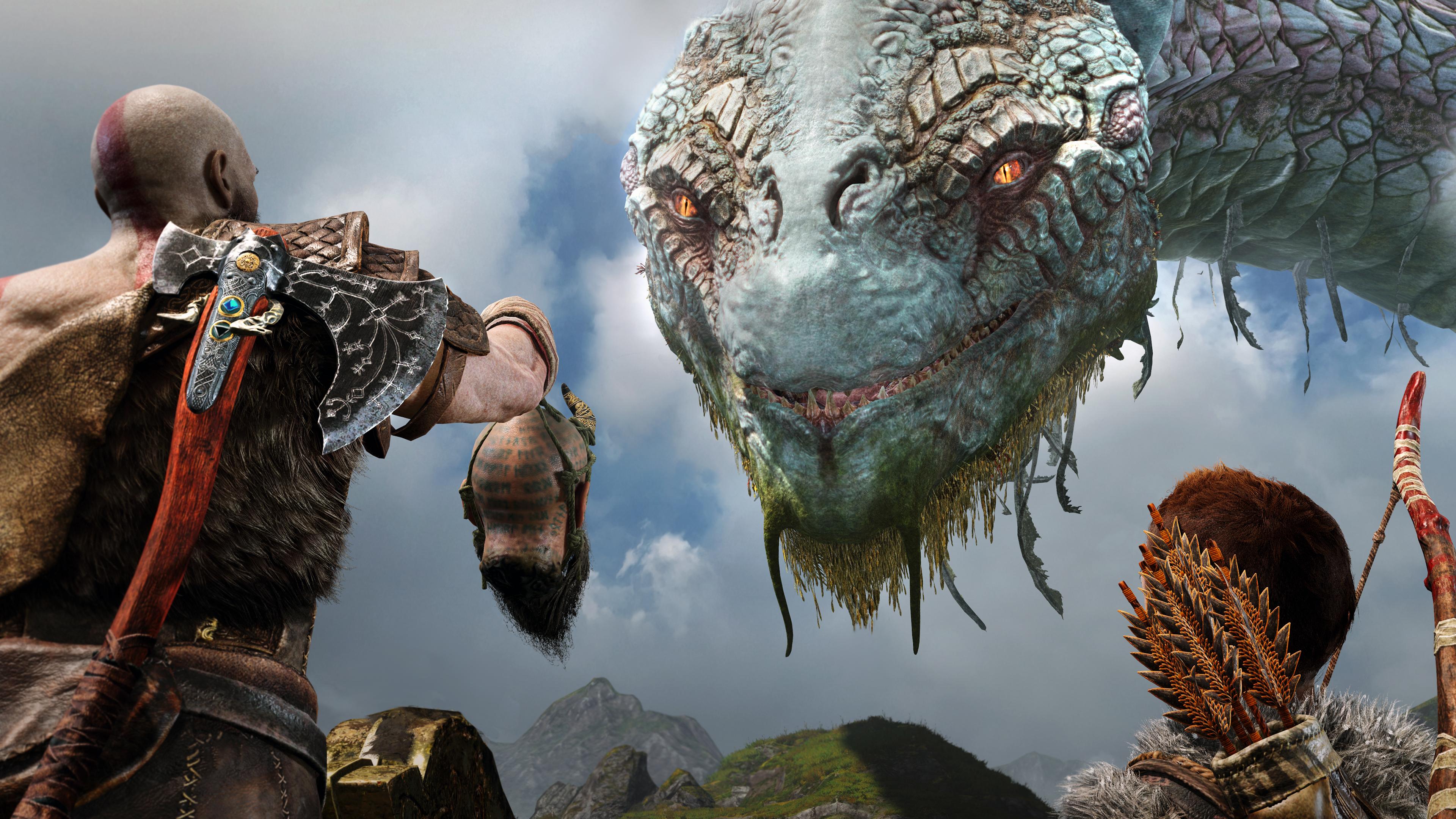 God Of War 4 2018 4k Hd Games 4k Wallpapers Images