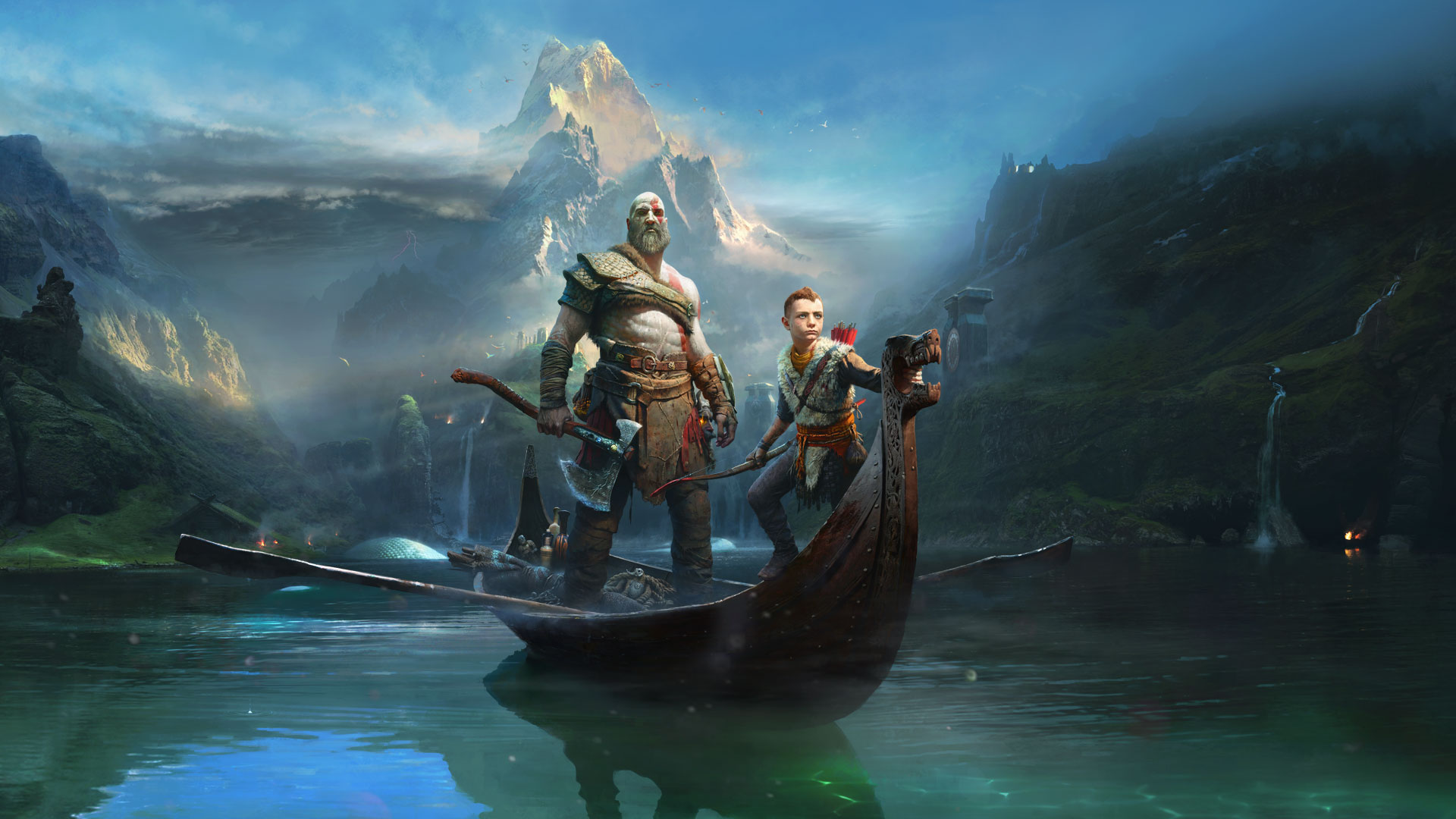 god of war 4 2018, hd games, 4k wallpapers, images, backgrounds