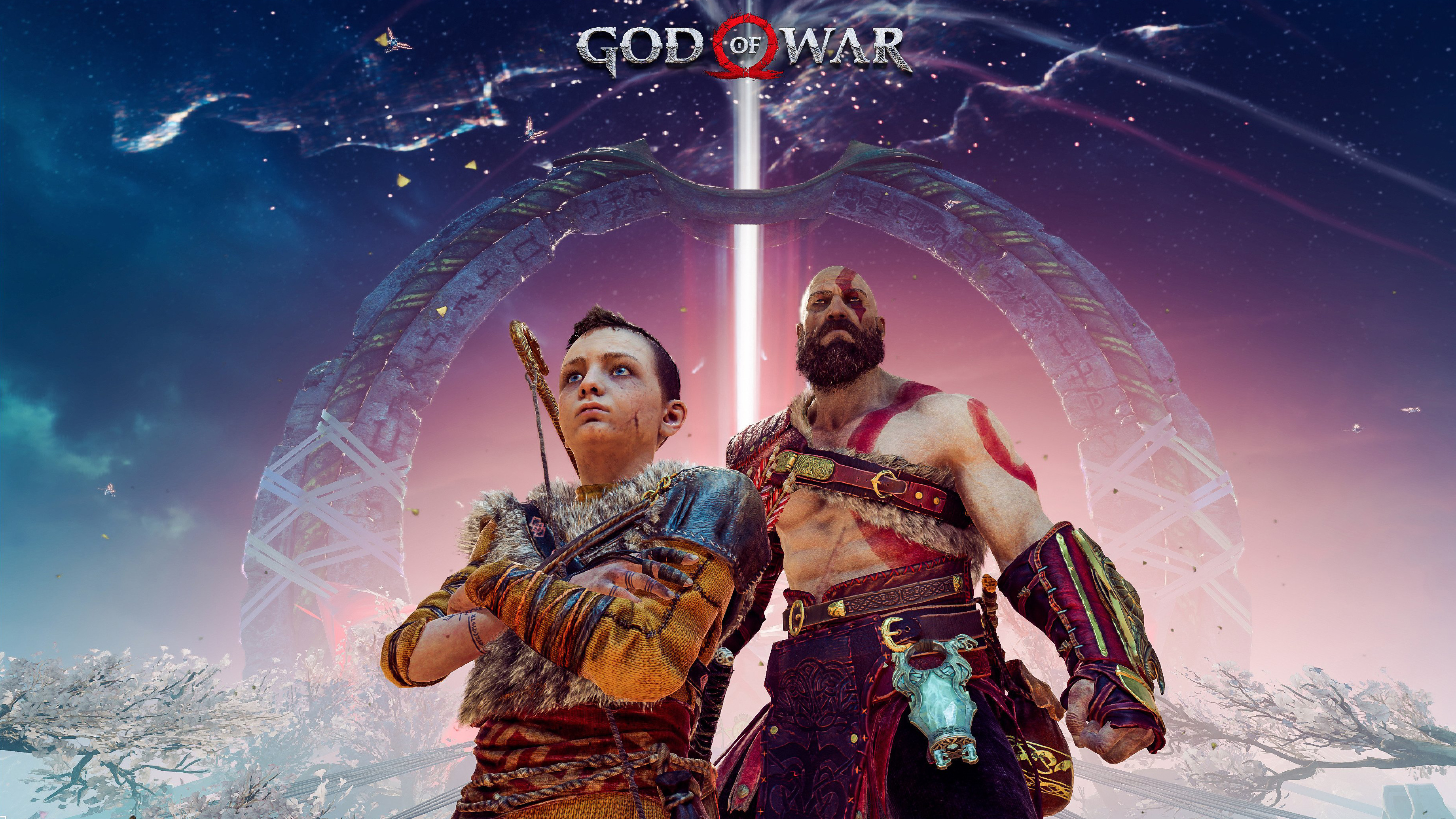480x854 God Of War 4 Fanart 4k Android One Hd 4k Wallpapers