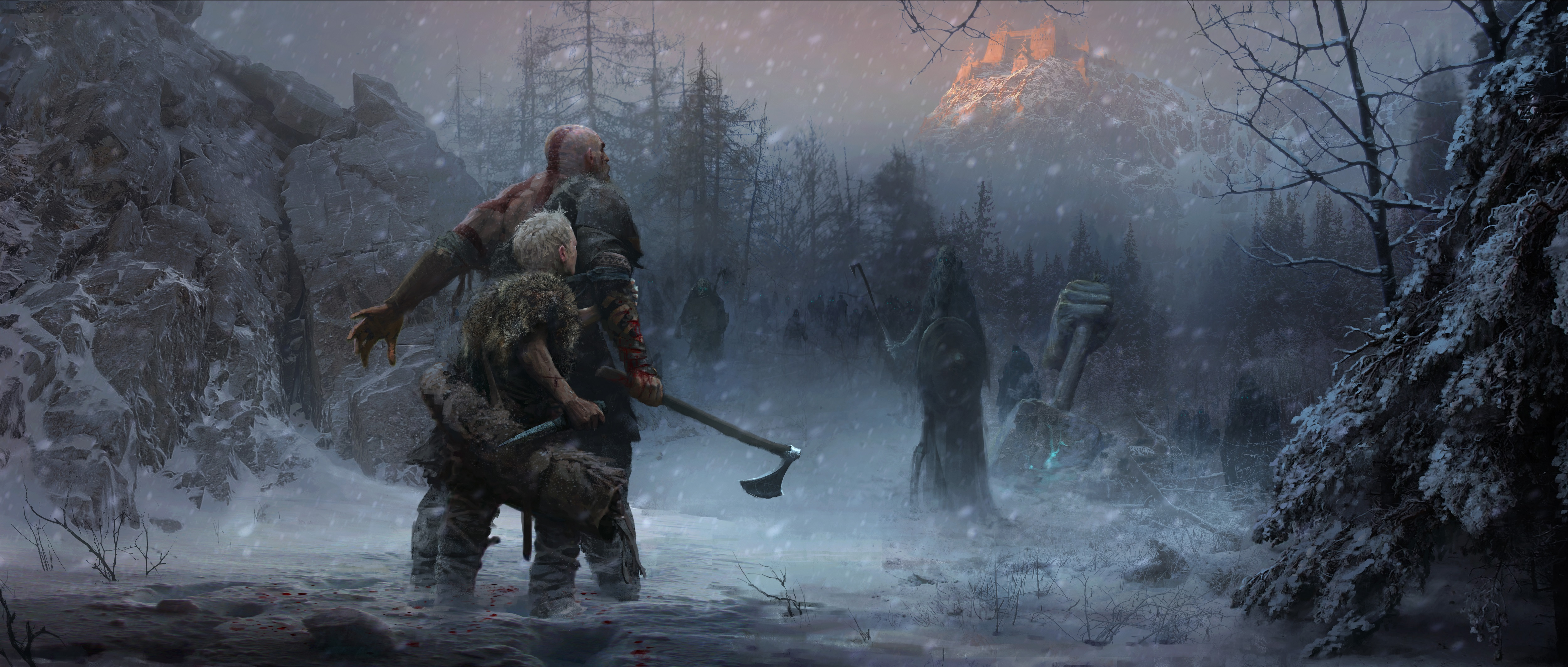 God Of War Defining The Norse Direction, HD Games, 4k ...
