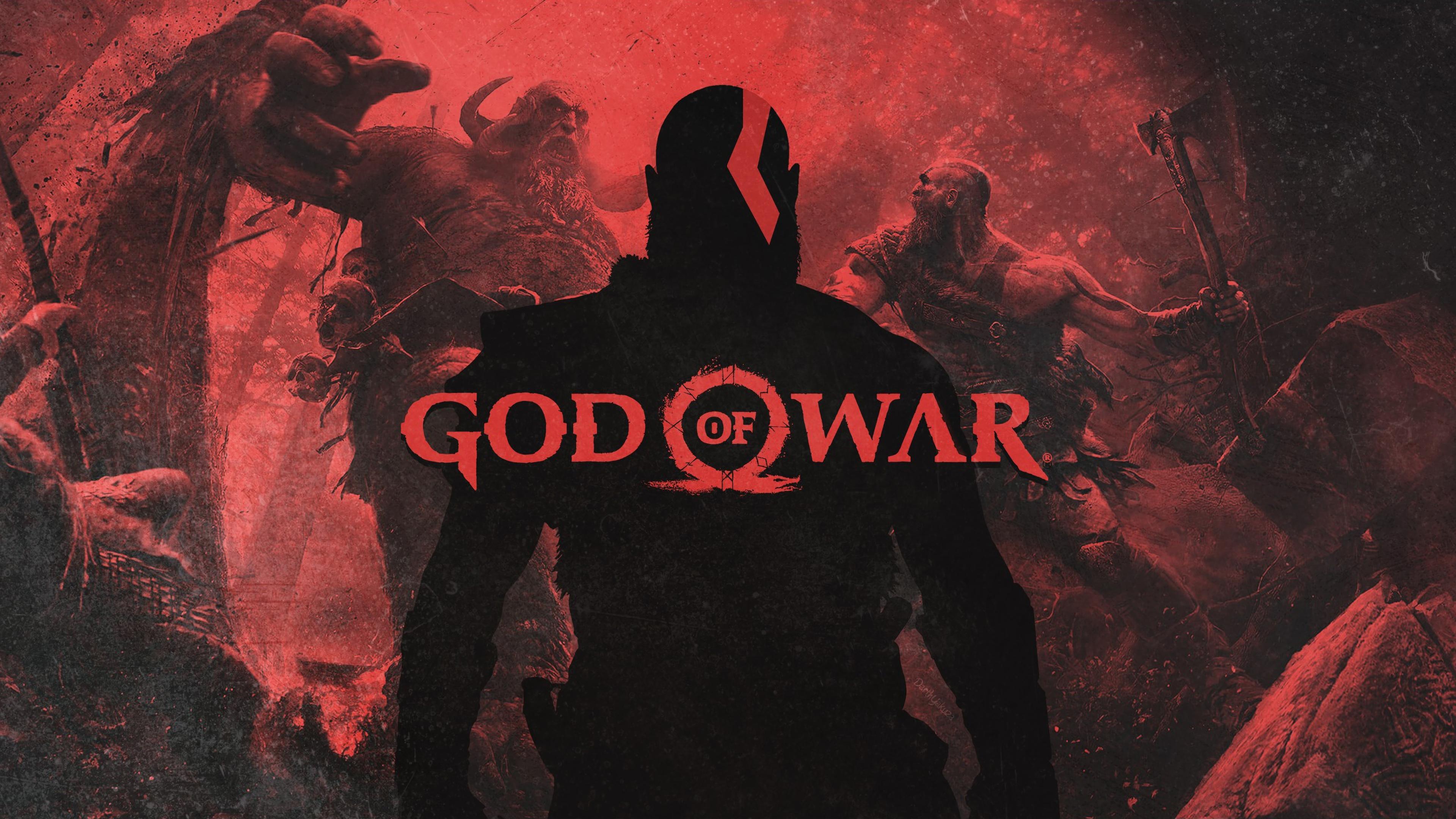 God Of War Kratos 4k Hd Games 4k Wallpapers Images Backgrounds