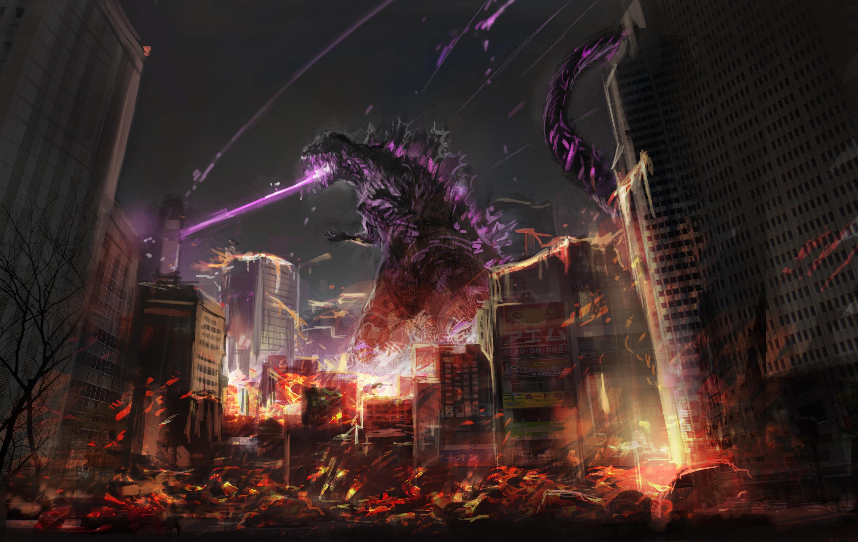 Godzilla Fan Art, HD Artist, 4k Wallpapers, Images