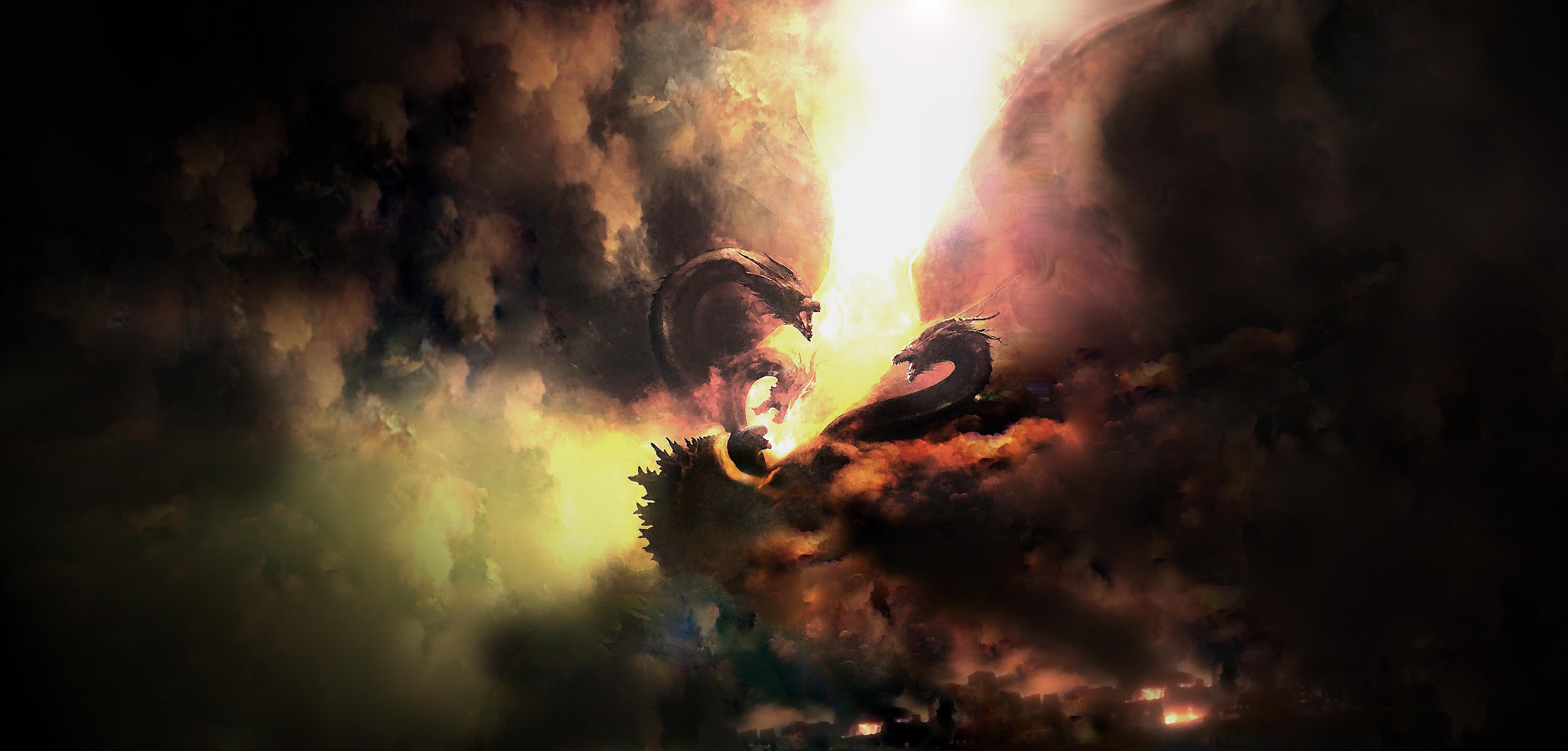 Godzilla King Of The Monsters 2019 Movie, HD Movies, 4k