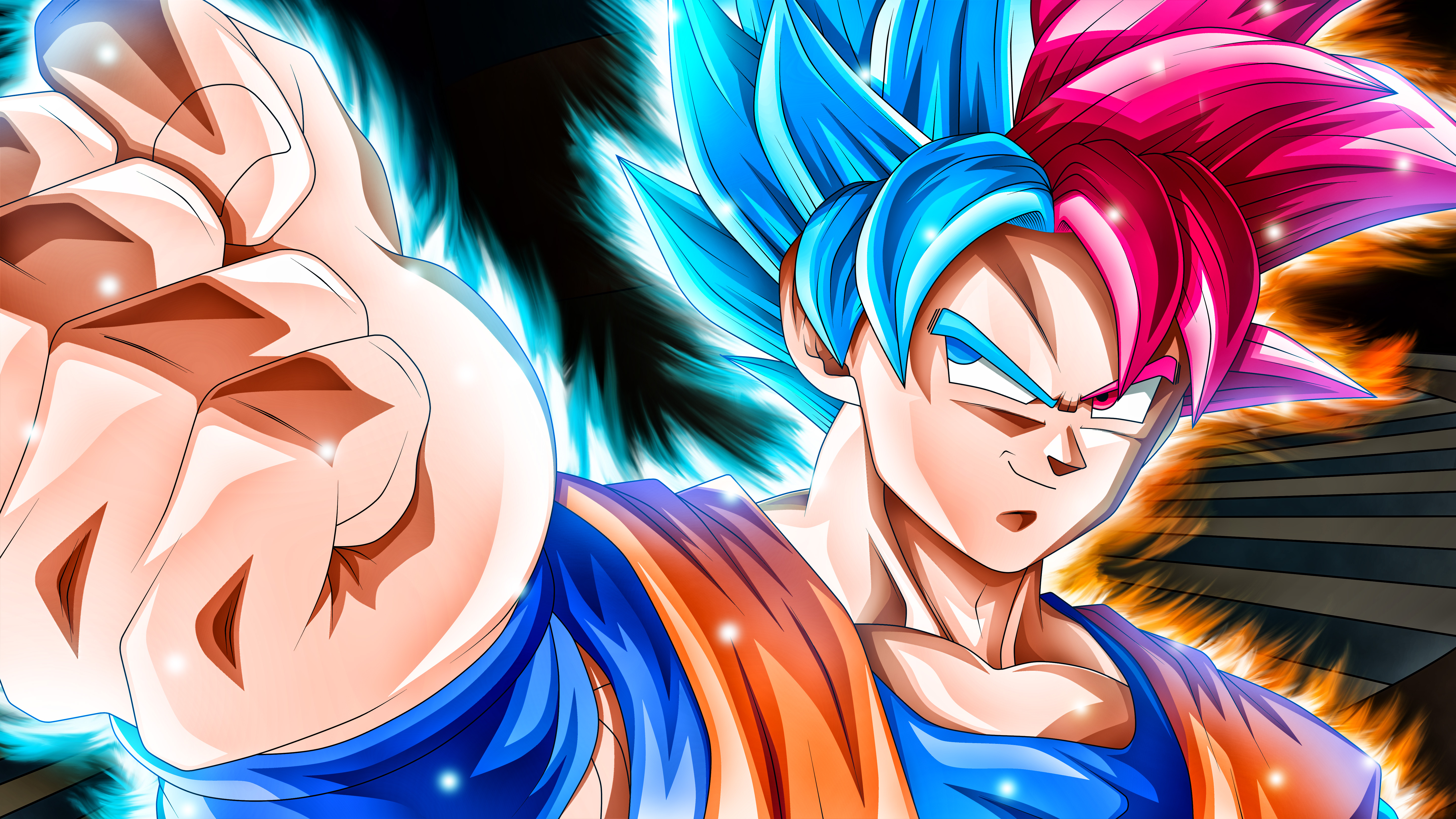 Goku 5k Dragon Ball Super, HD Anime, 4k Wallpapers, Images