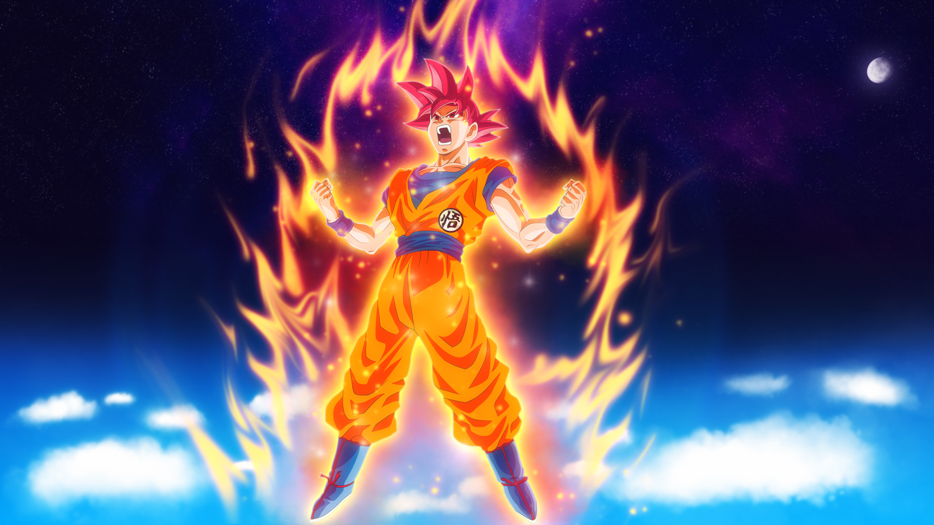 goku dragon ball super anime hd, hd anime, 4k wallpapers, images