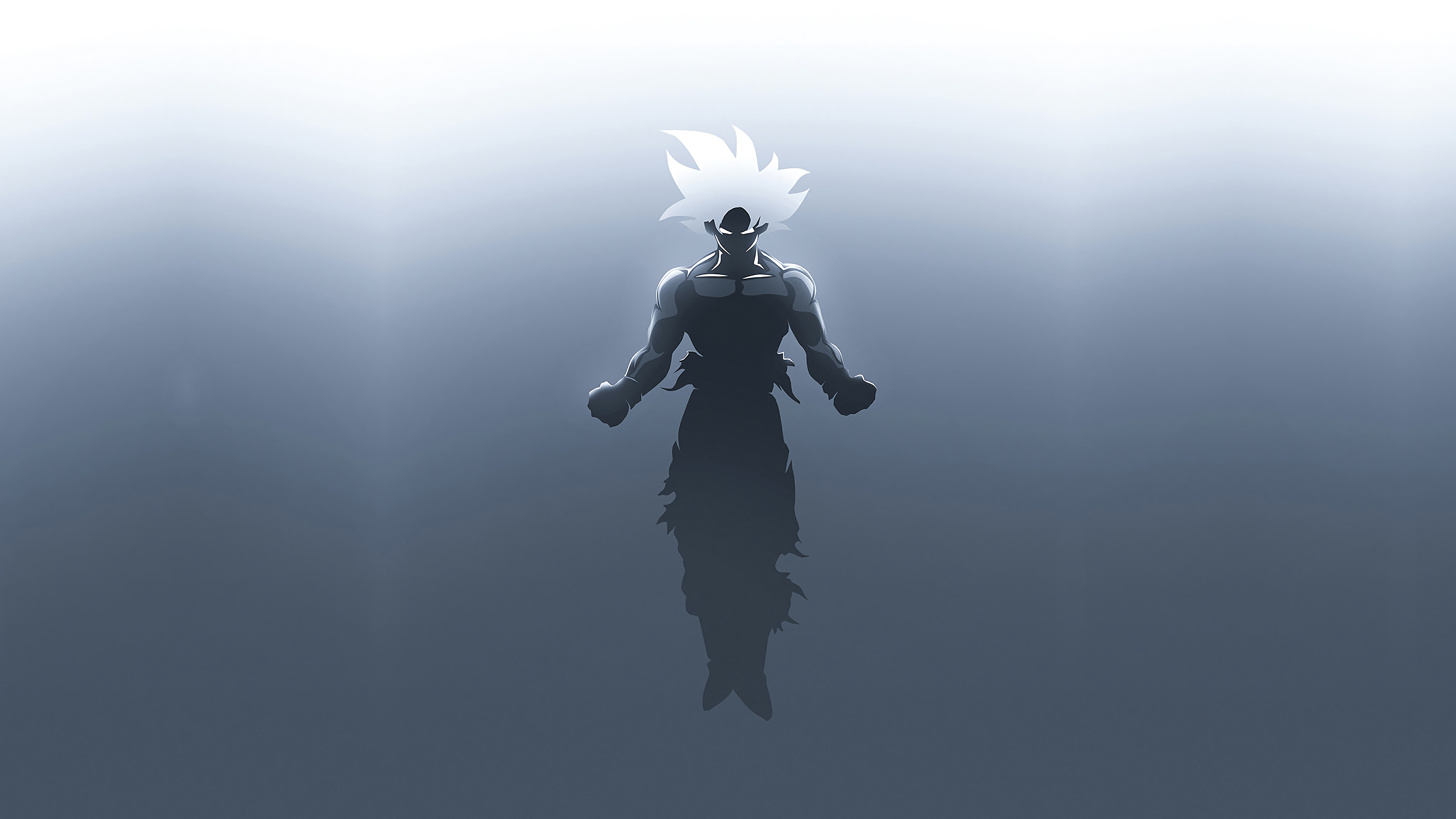 Goku In Dragon Ball Super Minimalism Hd Anime 4k