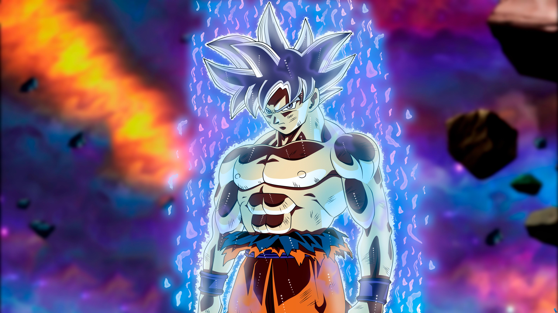 Ultra Instinct Goku Wallpaper 4k: Goku Migatte No Gokui Perfecto Ultra Instinct Dragon Ball