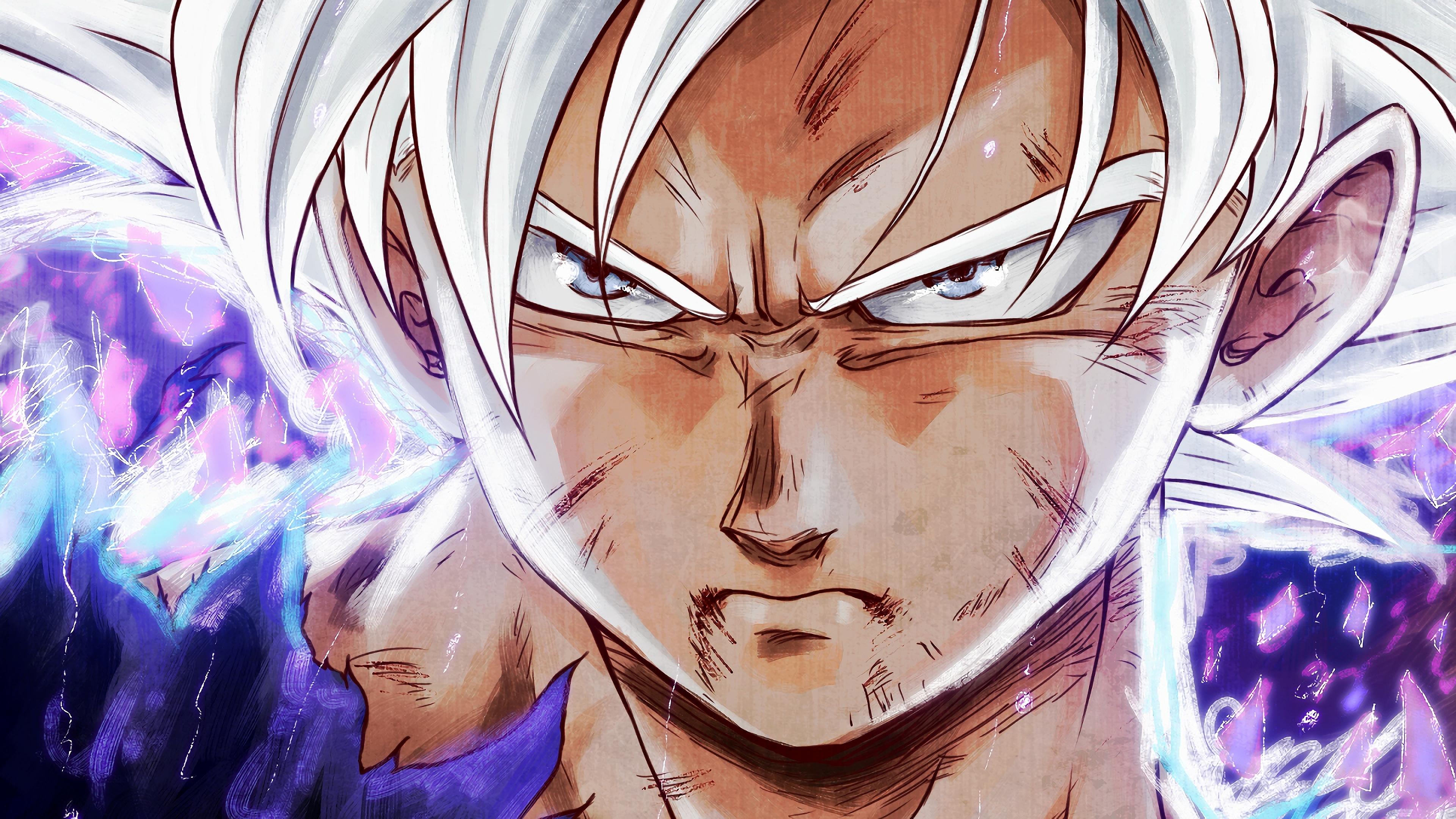 Goku Ultra Instinct Dragon Ball 4k