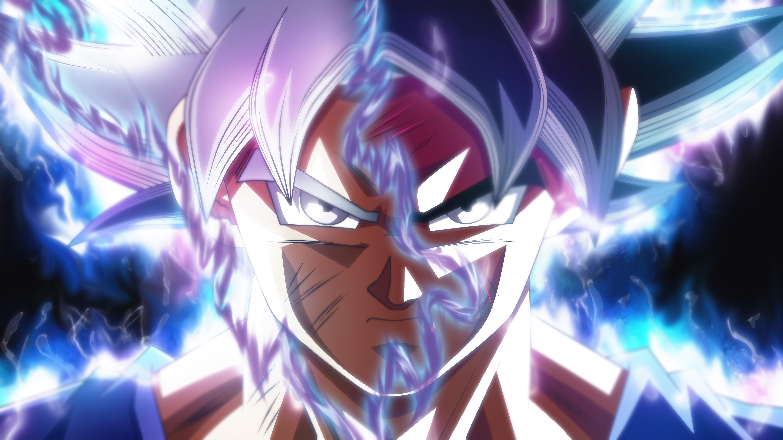 Goku Ultra Instinct Transformation Hd Anime 4k Wallpapers