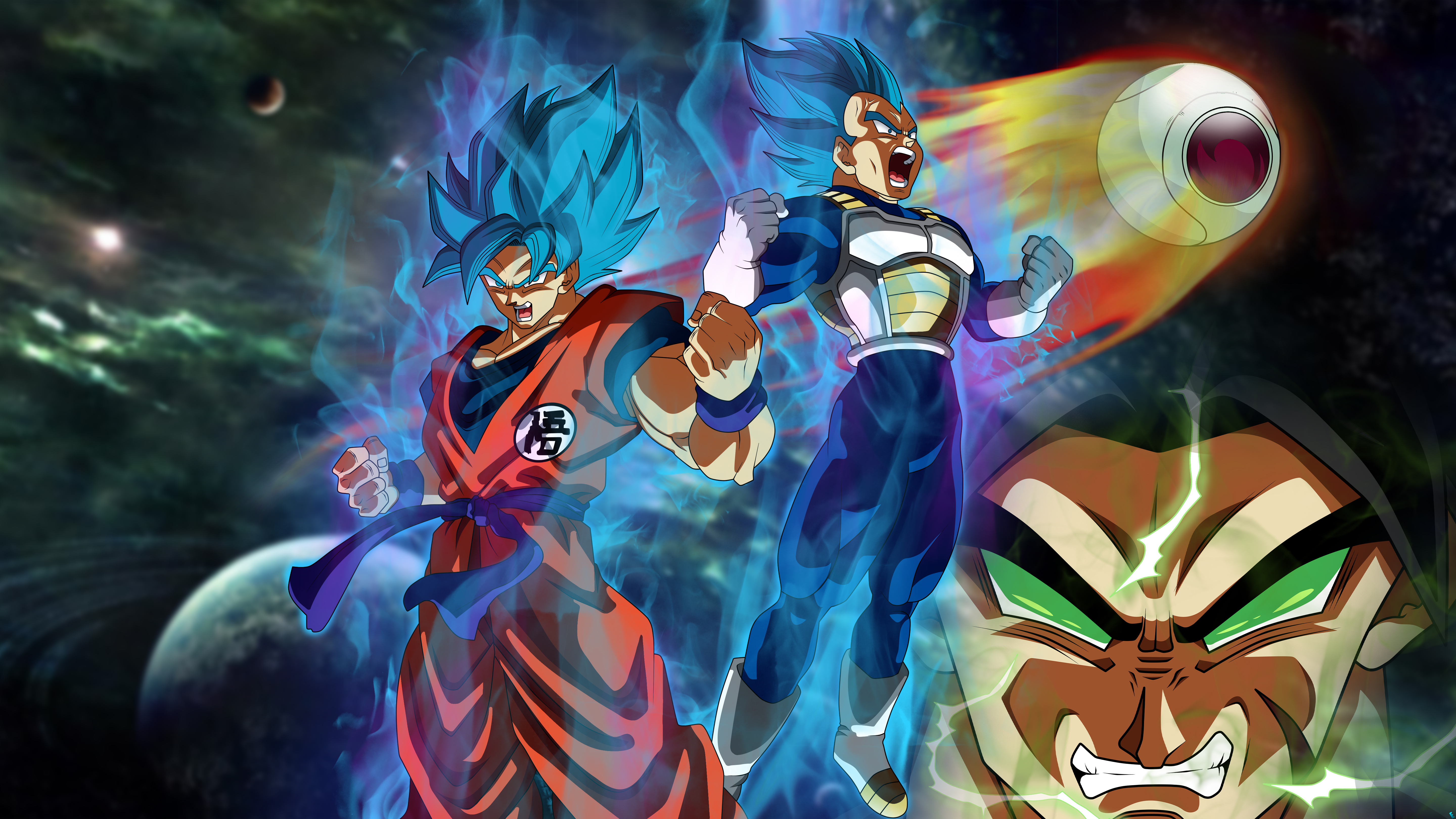 Goku Vegeta Dragon Ball Super 5k Hd Anime 4k Wallpapers