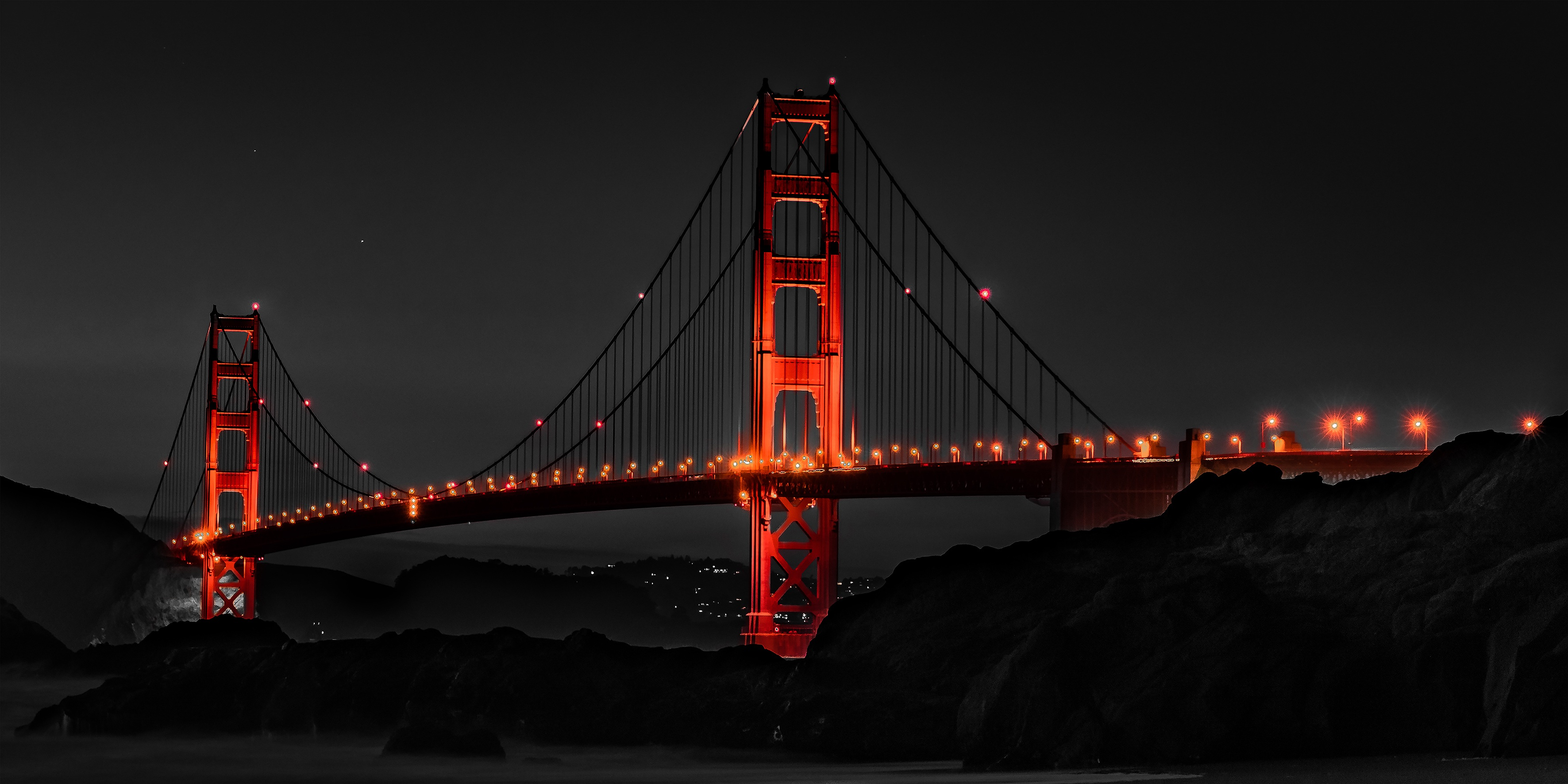 Great Wallpaper Night Golden Gate Bridge - golden-gate-bridge-san-francisco-night-ds  Gallery-12783.jpg