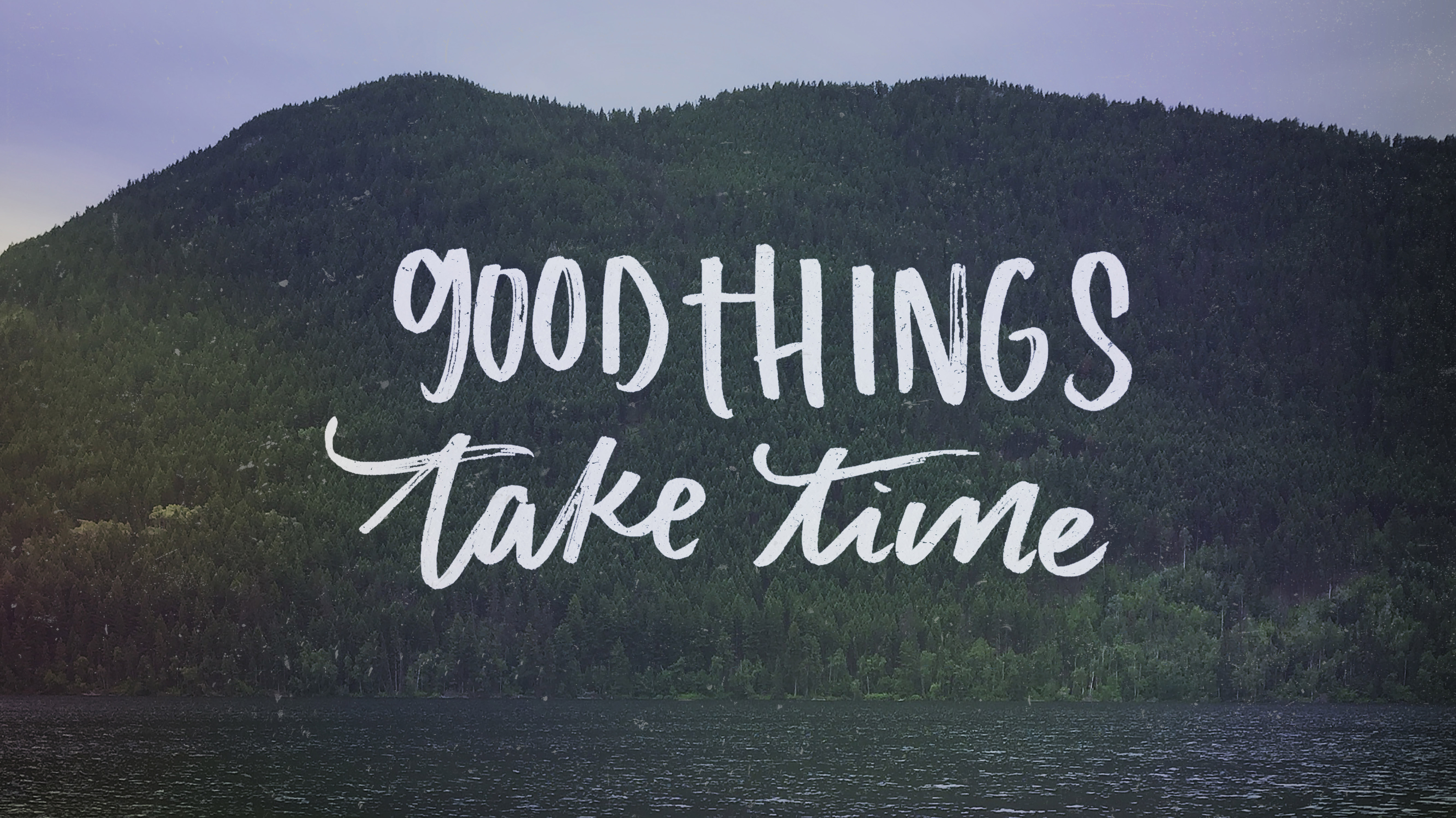 Good Things Take Time Hd Typography 4k Wallpapers Images