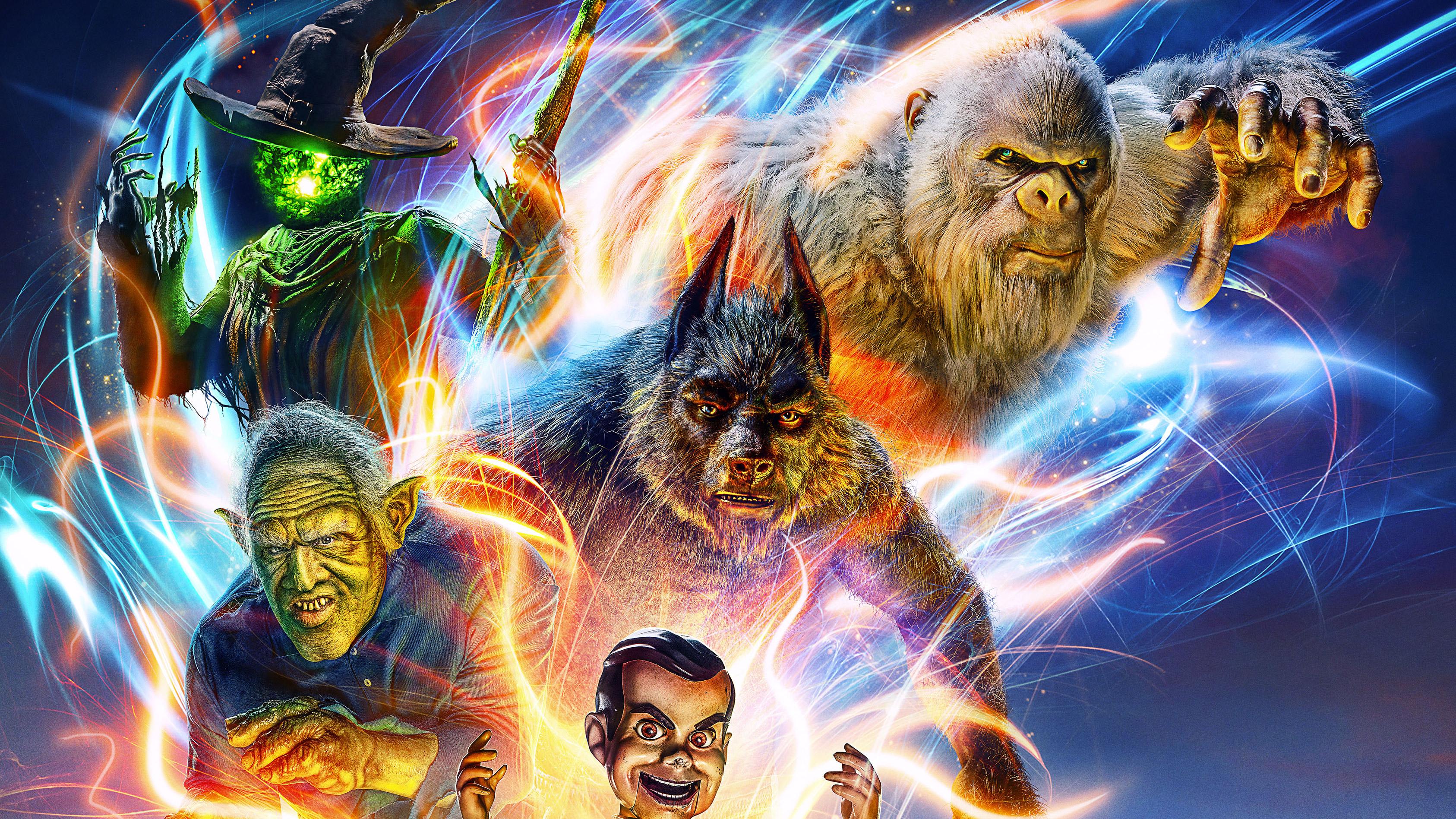 Goosebumps 2 Haunted Halloween Uk Poster 4k, HD Movies, 4k ...