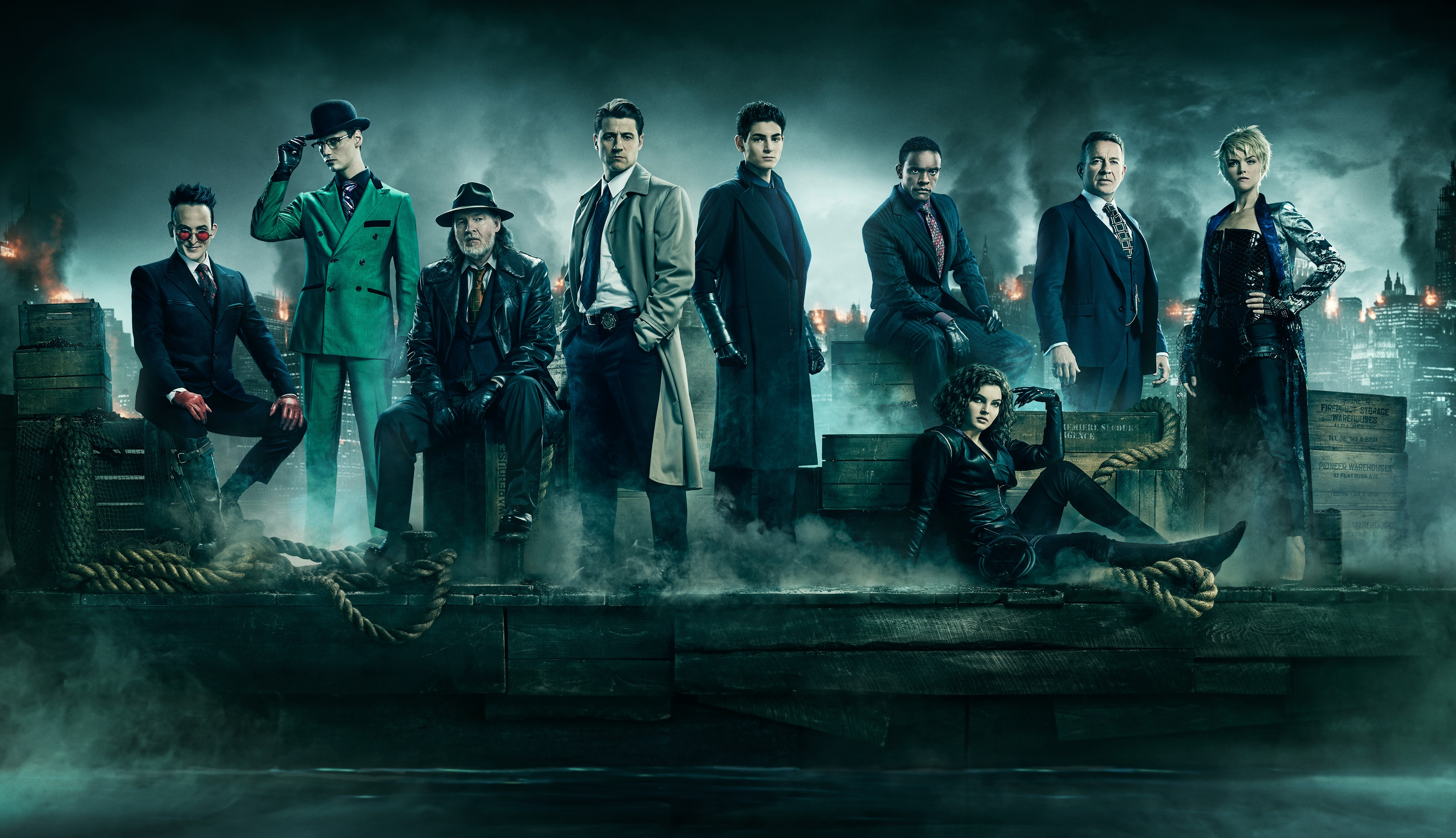 Gotham season 5 hd tv shows 4k wallpapers images - Tv series wallpaper 4k ...