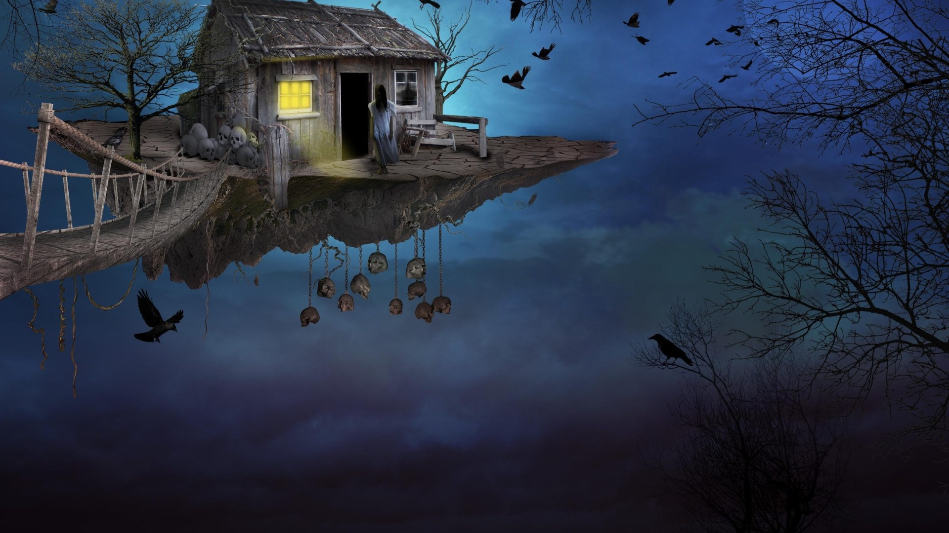 Gothic Fantasy House, HD Artist, 4k Wallpapers, Images
