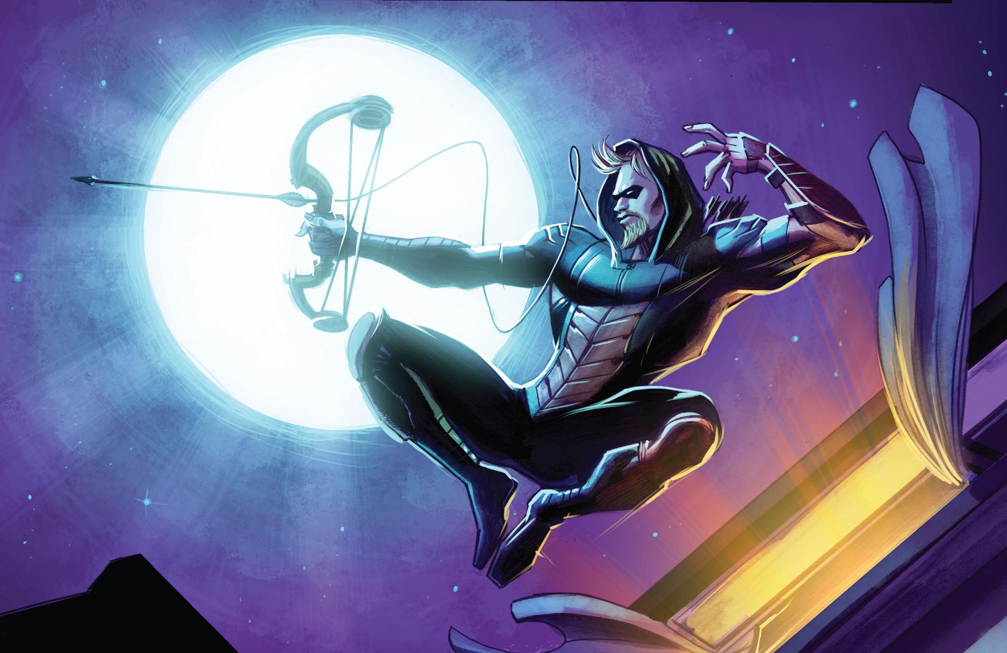 Green Arrow Dc Comic Art