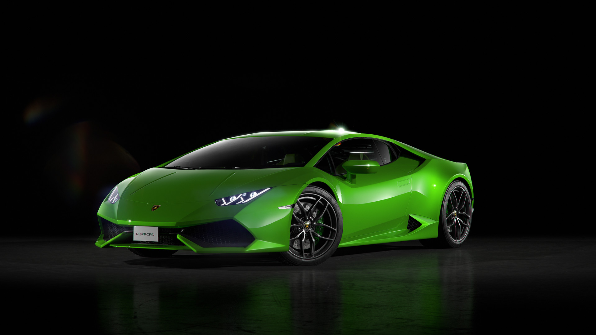 Wallpapers Green And Lamborghini On Pinterest: Green Lamborghini Huracan Front, HD Cars, 4k Wallpapers