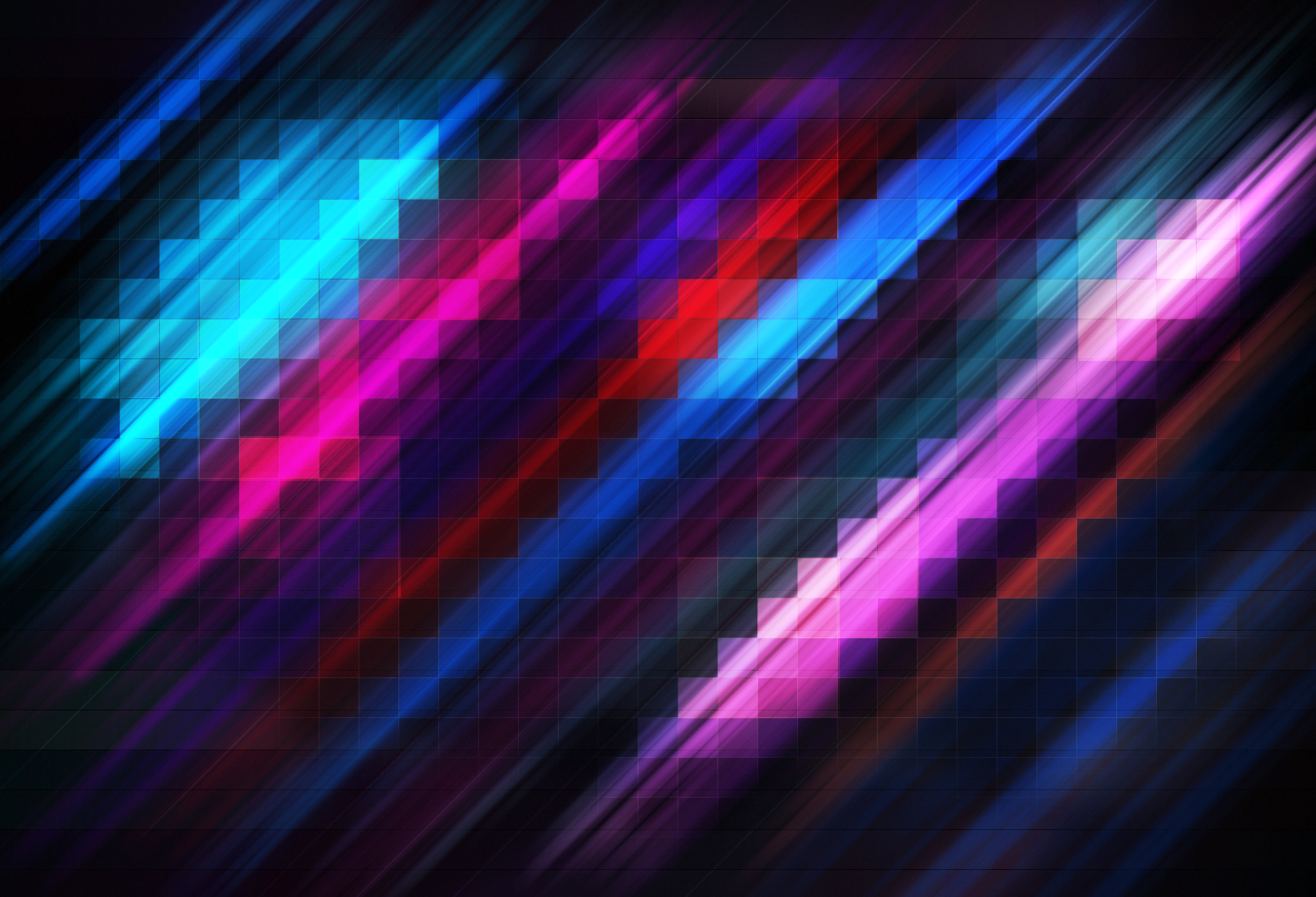 grid abstract colorful 4k, hd abstract, 4k wallpapers, images