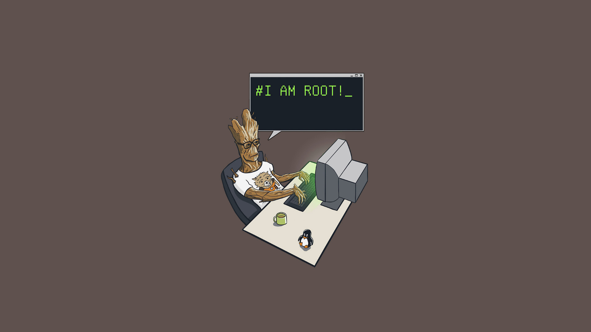 groot i am root hd computer 4k wallpapers images