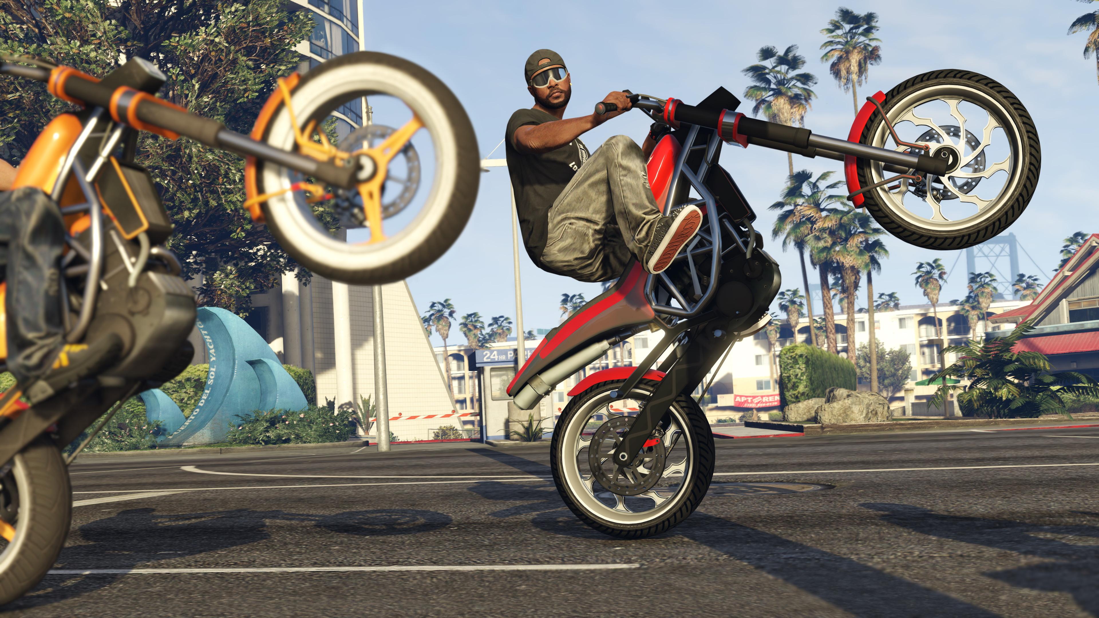 GTA 5 Biker DLC 1600x900 Resolution